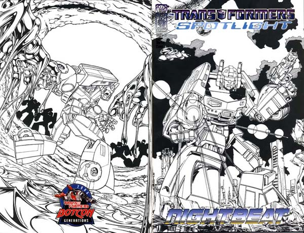BotCon 2006 Cover: MD Bright and Nick Roche