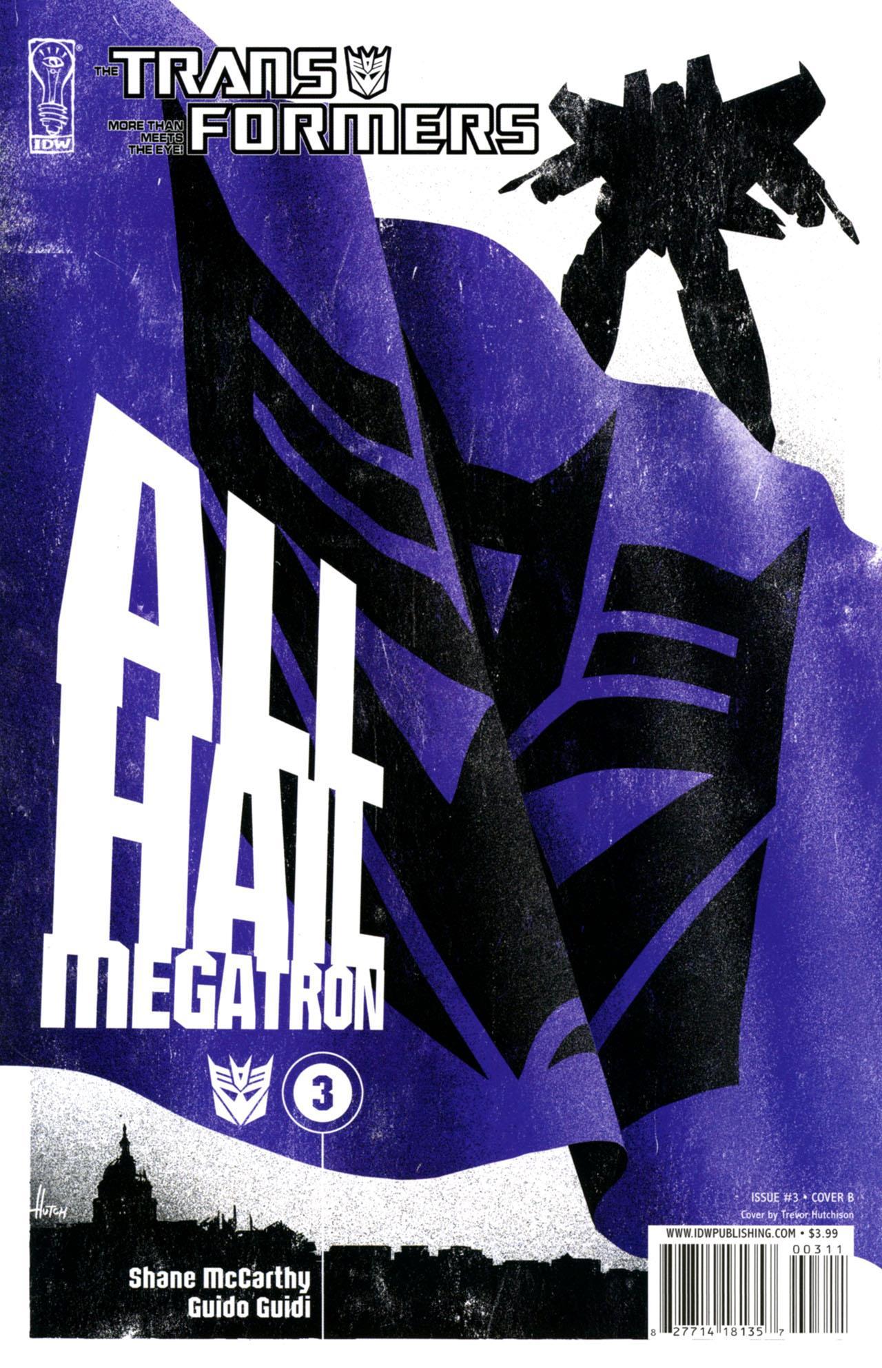 Cover B: Trevor Hutchison