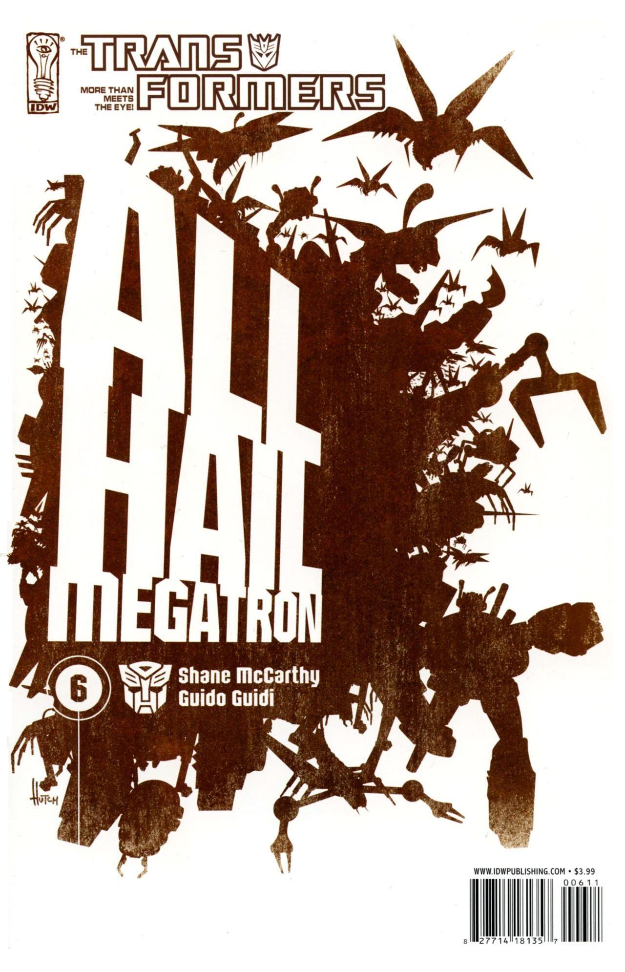 Cover B: Trevor Hucthison