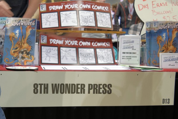 8th Wonder Press  Draw Your Own Comics  Strip Paper.