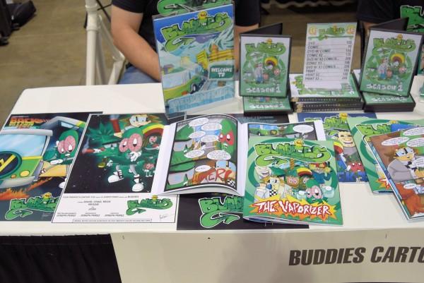Buddies comics from Joseph Perez.