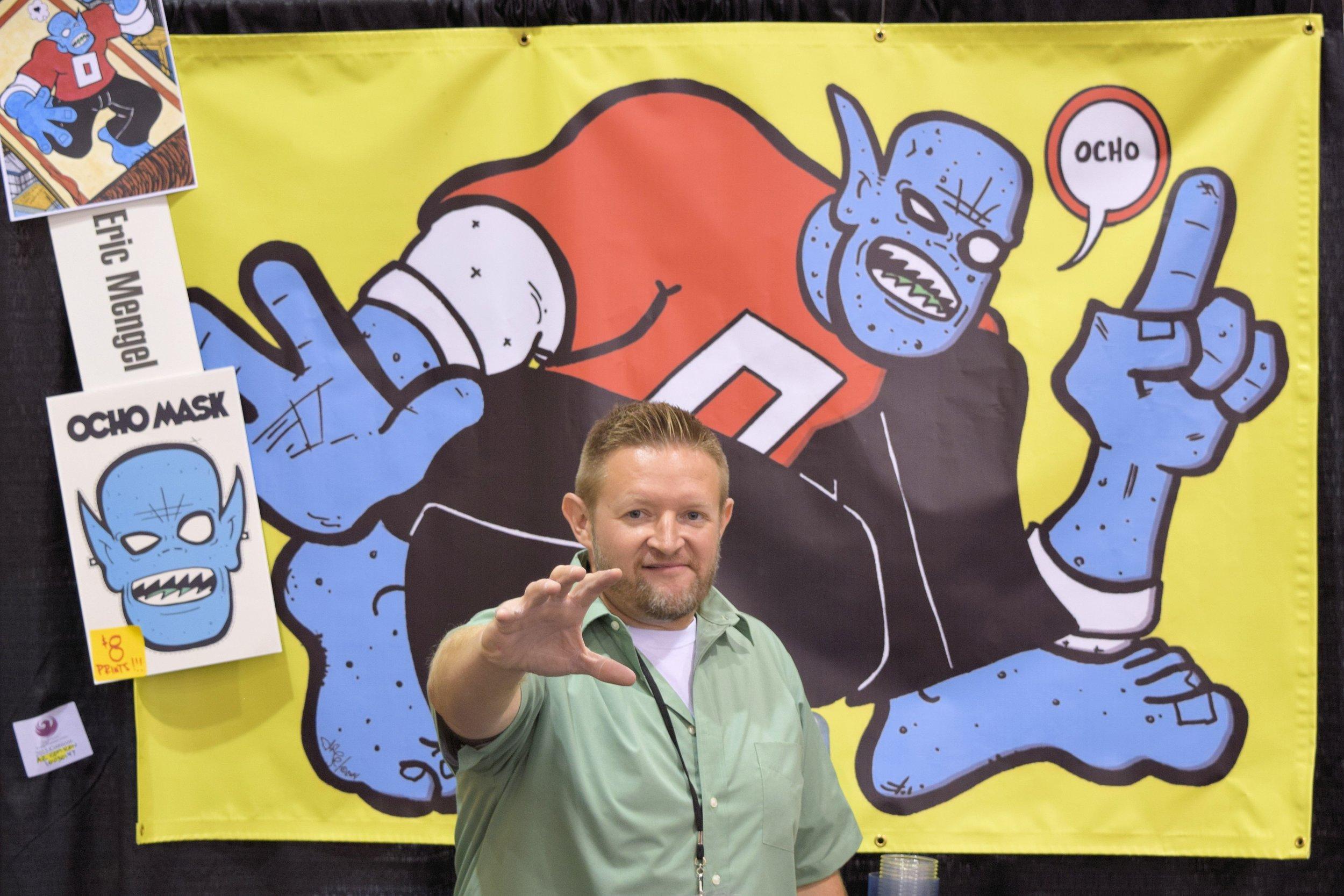 Eric Mengel of Ocho Comics.