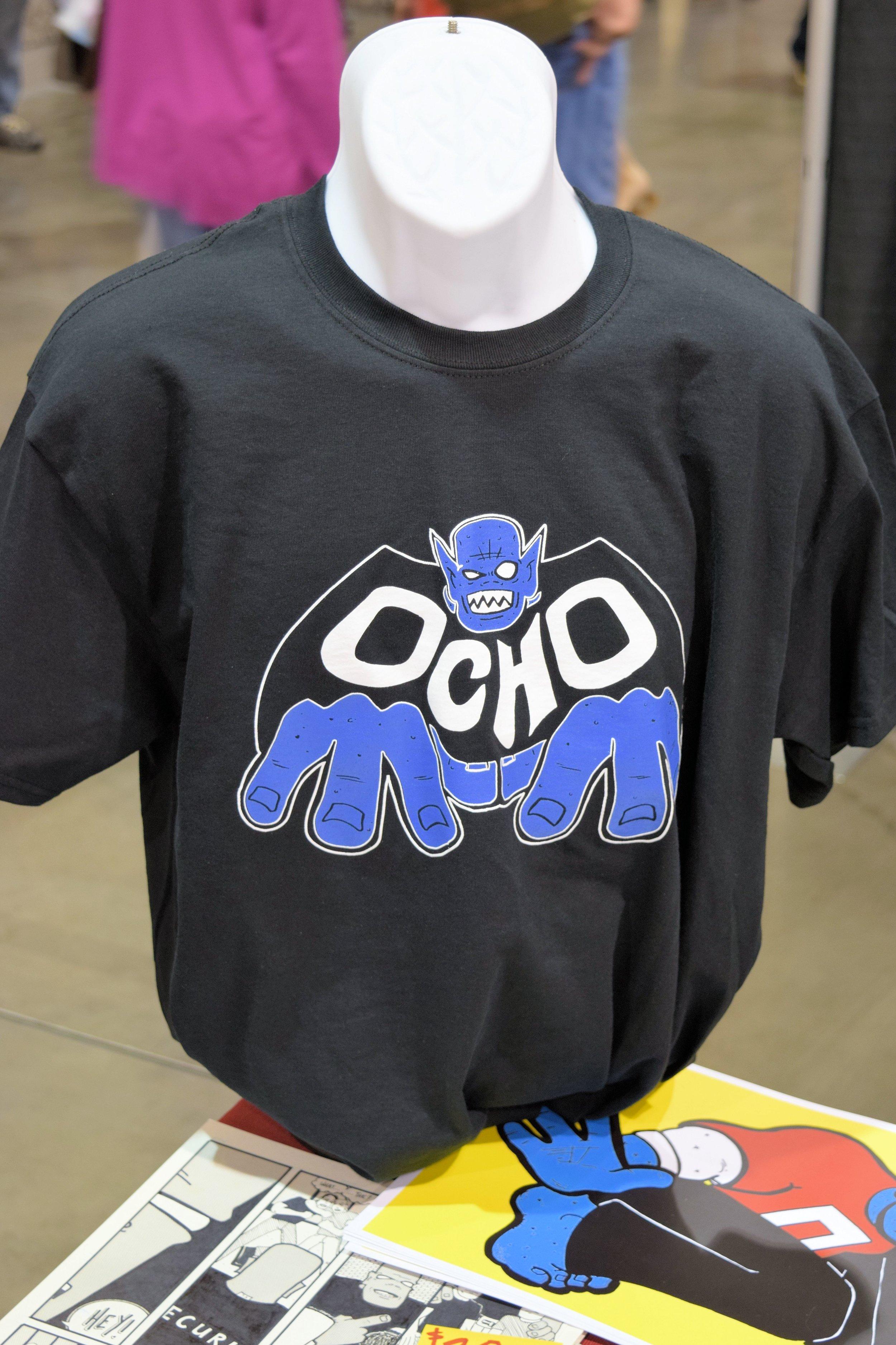 Ocho Comics t-shirt from Eric Mengel.