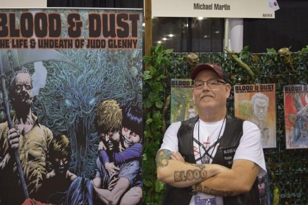 Michael Martin at Phoenix Comic Con 2016 (1).