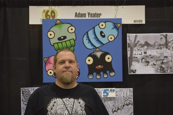 Adam Yeater at Phoenix Comic Con 2016 (1).