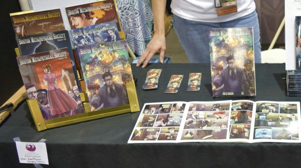Boston Metaphysical Society single issues at Phoenix Comic Con 2016.