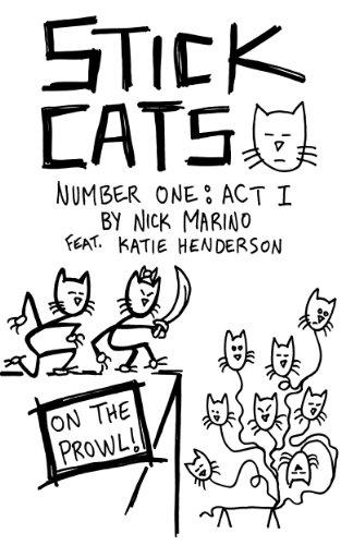Stick Cats by Nick Marino.