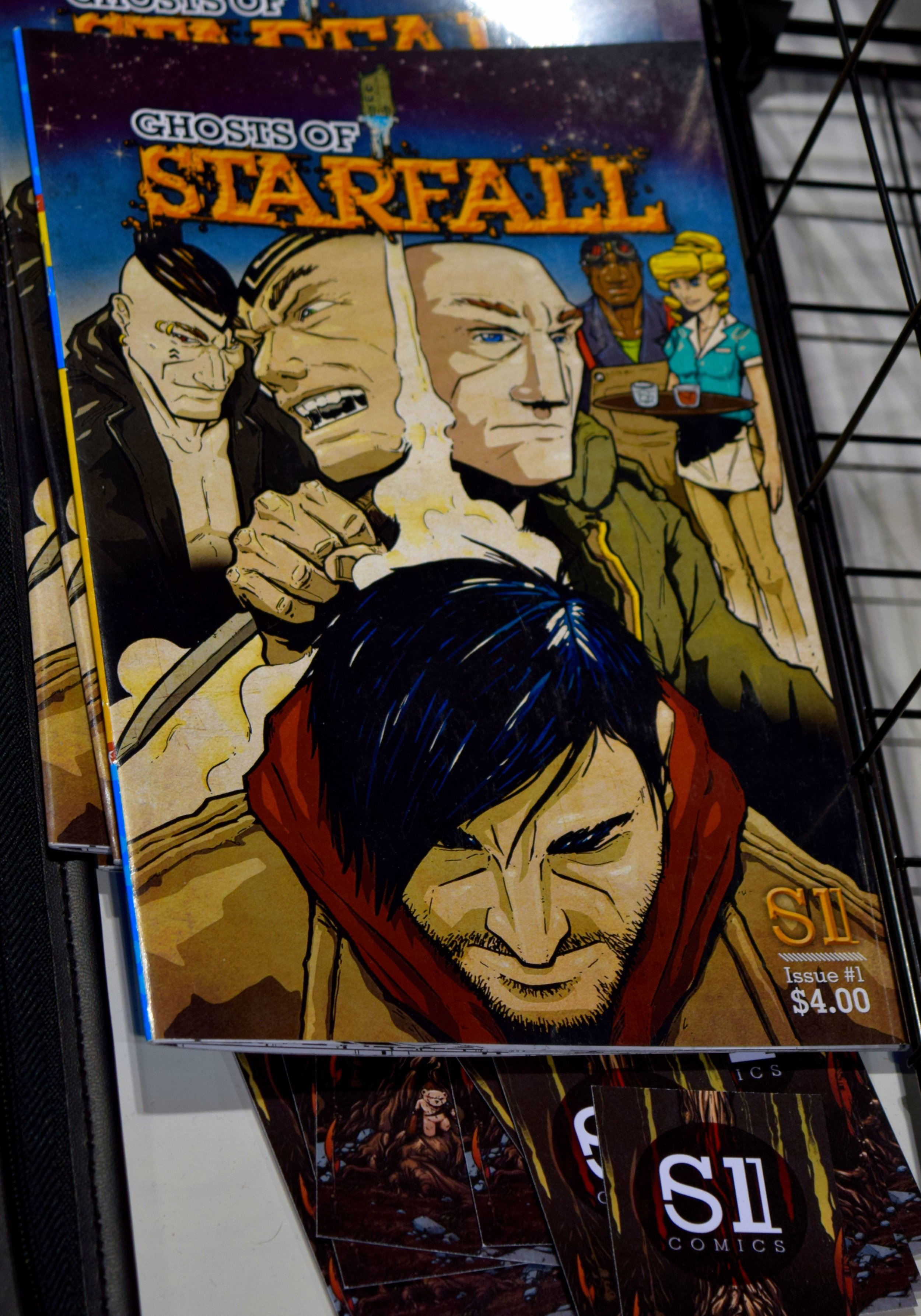Ghosts of Starfall #1 by Adam Boyle & Ben Mikkelsen.
