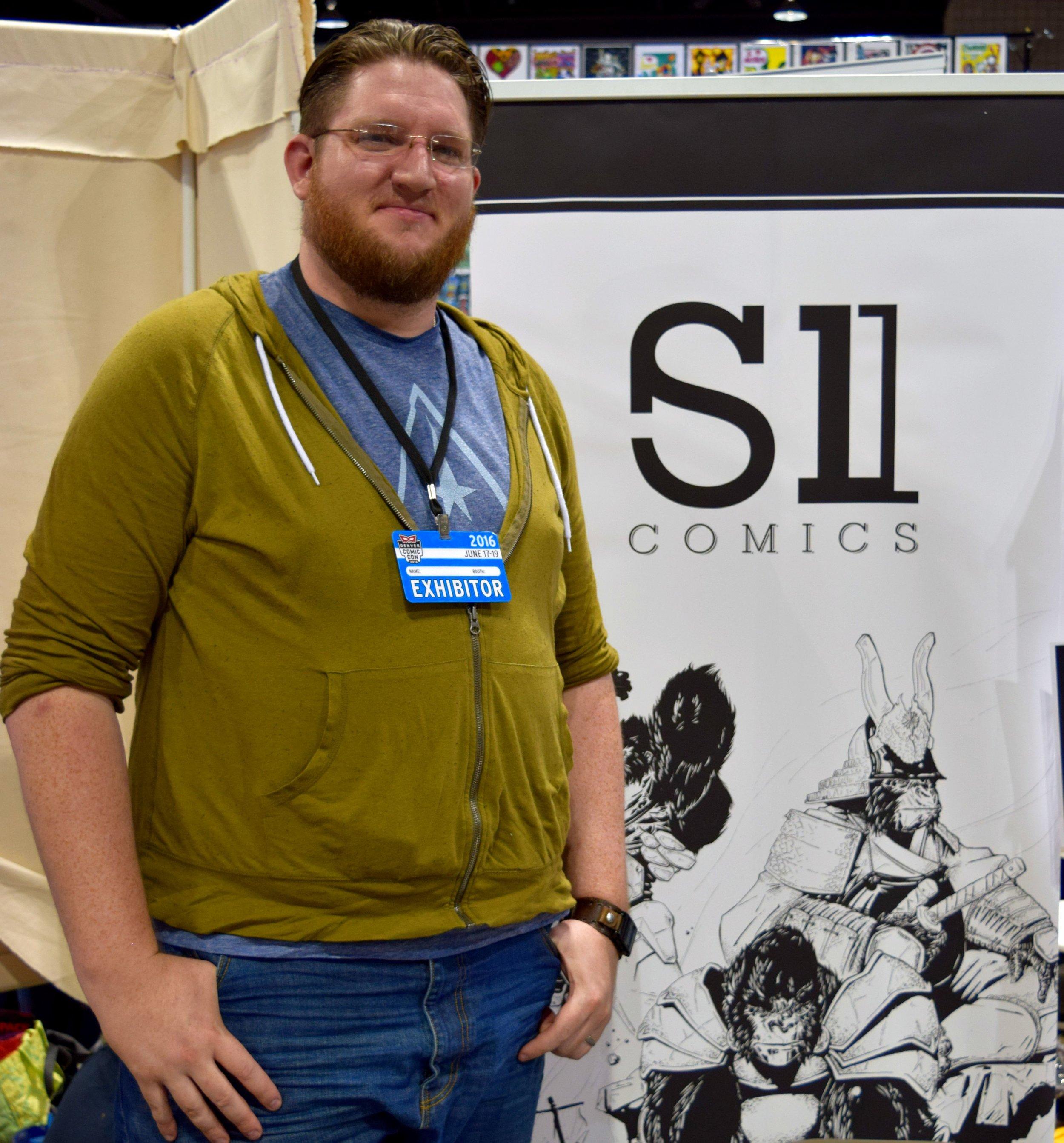 Ben Mikkelsen at Denver Comic Con 2016.