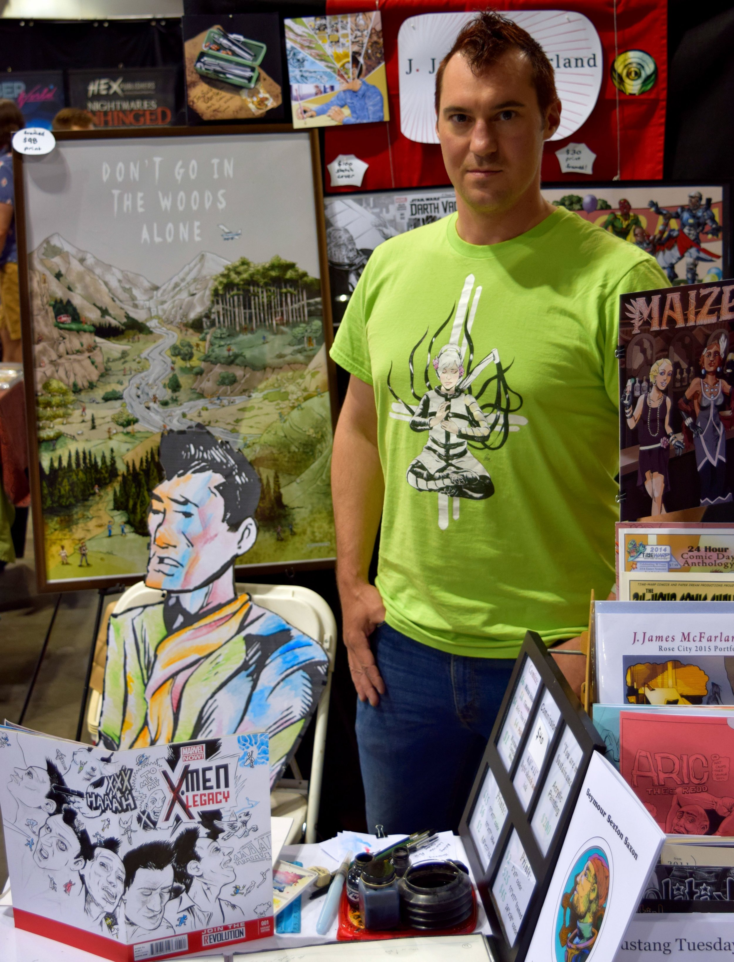 J. James McFarland at Denver Comic Con 2016 (1).