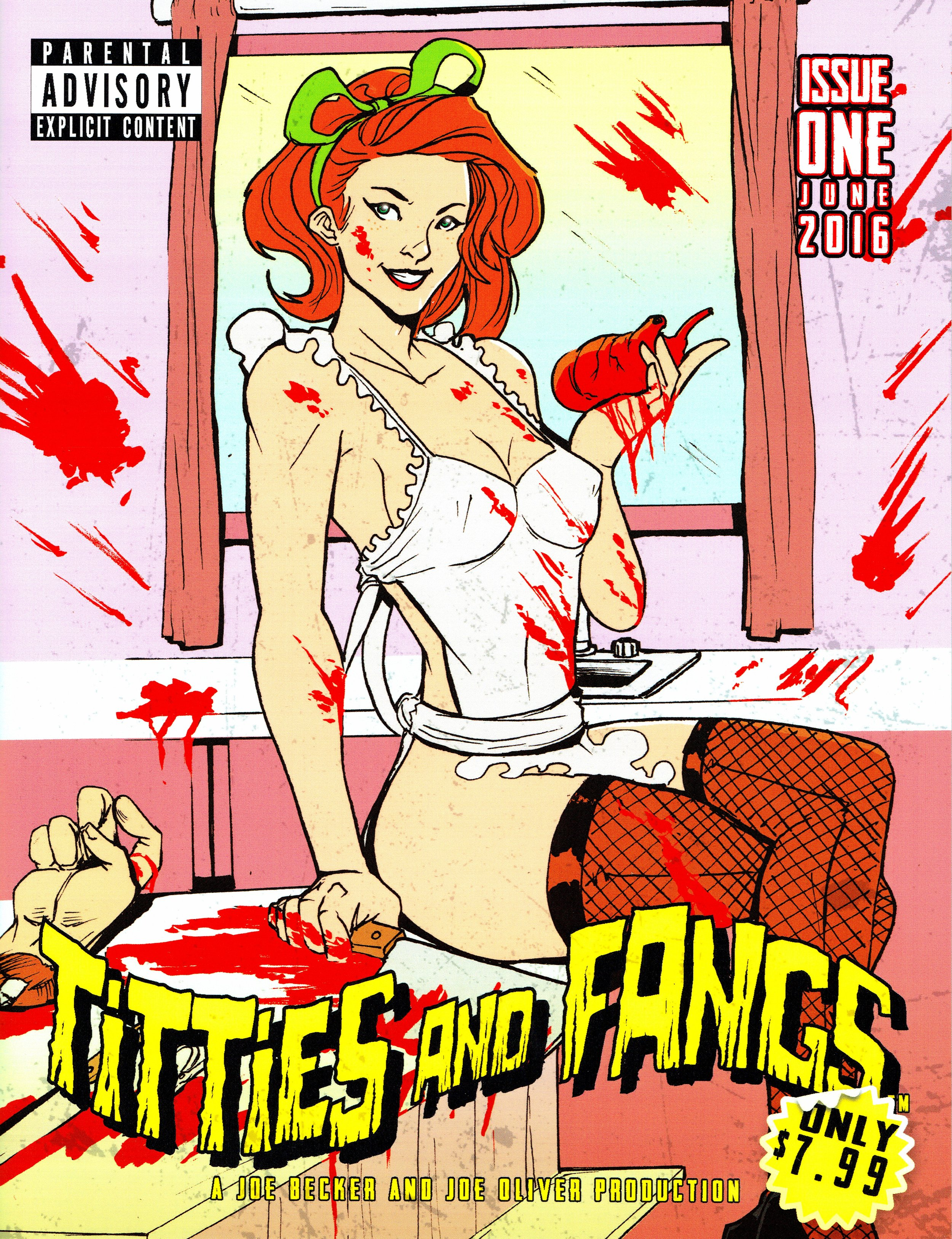 Titties and Fangs #1 - A Joe Becker and Joe Oliver Production.
