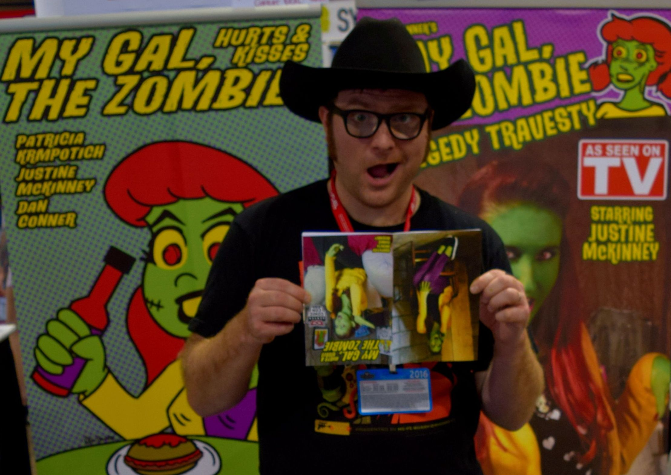 Dan Conner at Denver Comic Con 2016.