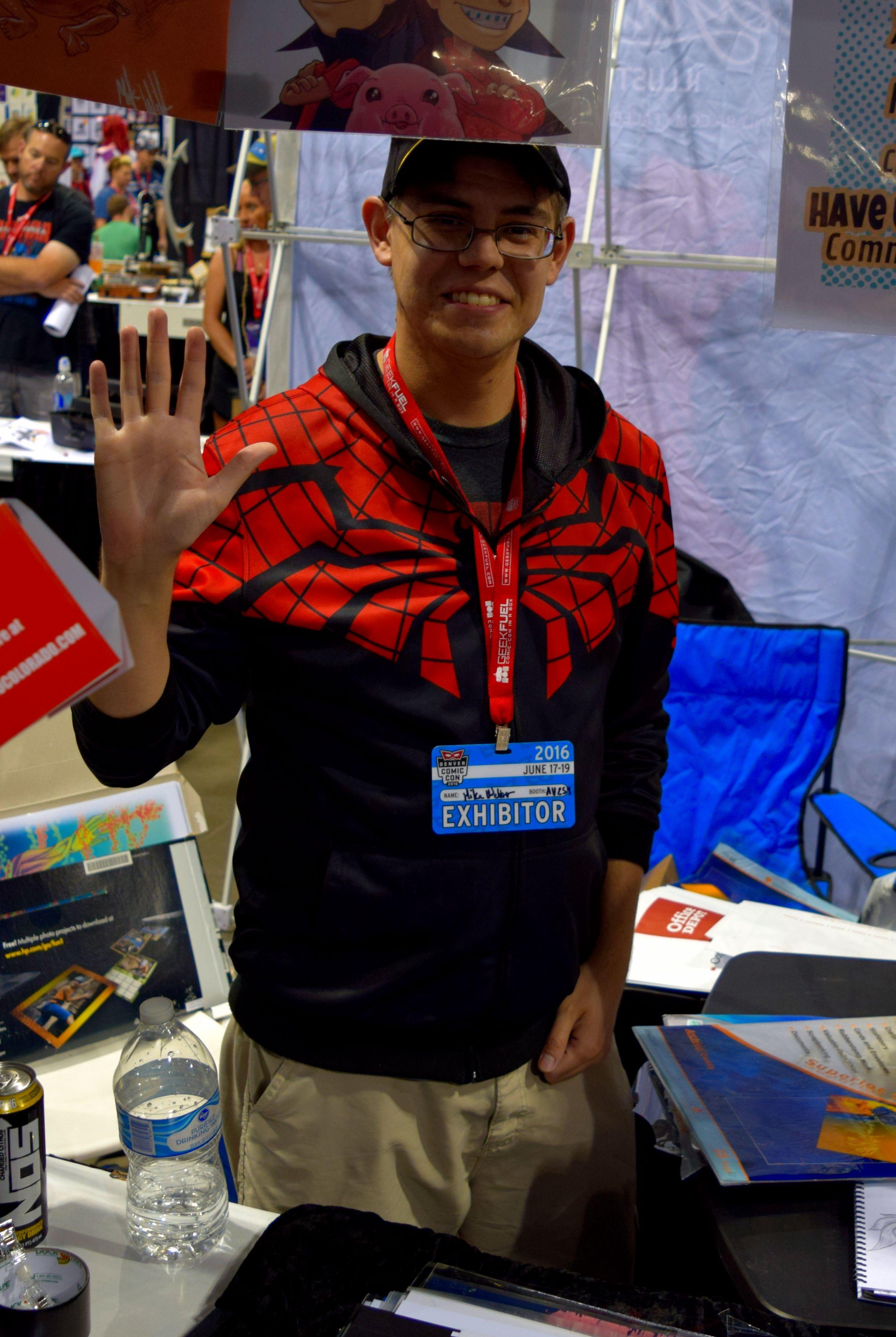 Red Team Go Colorado member Michael Webber.
