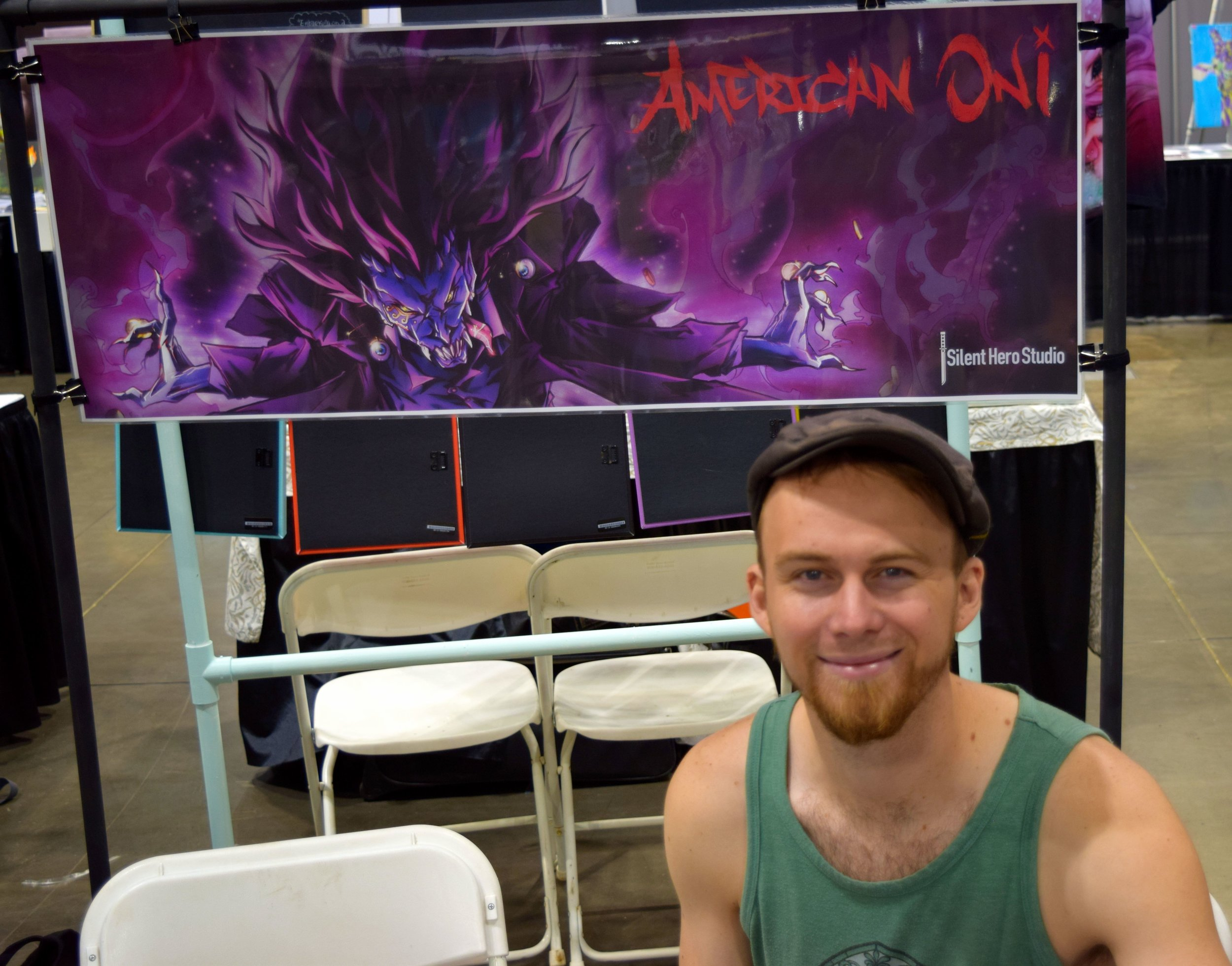 Carl Buchanan at Denver Comic Con 2016.