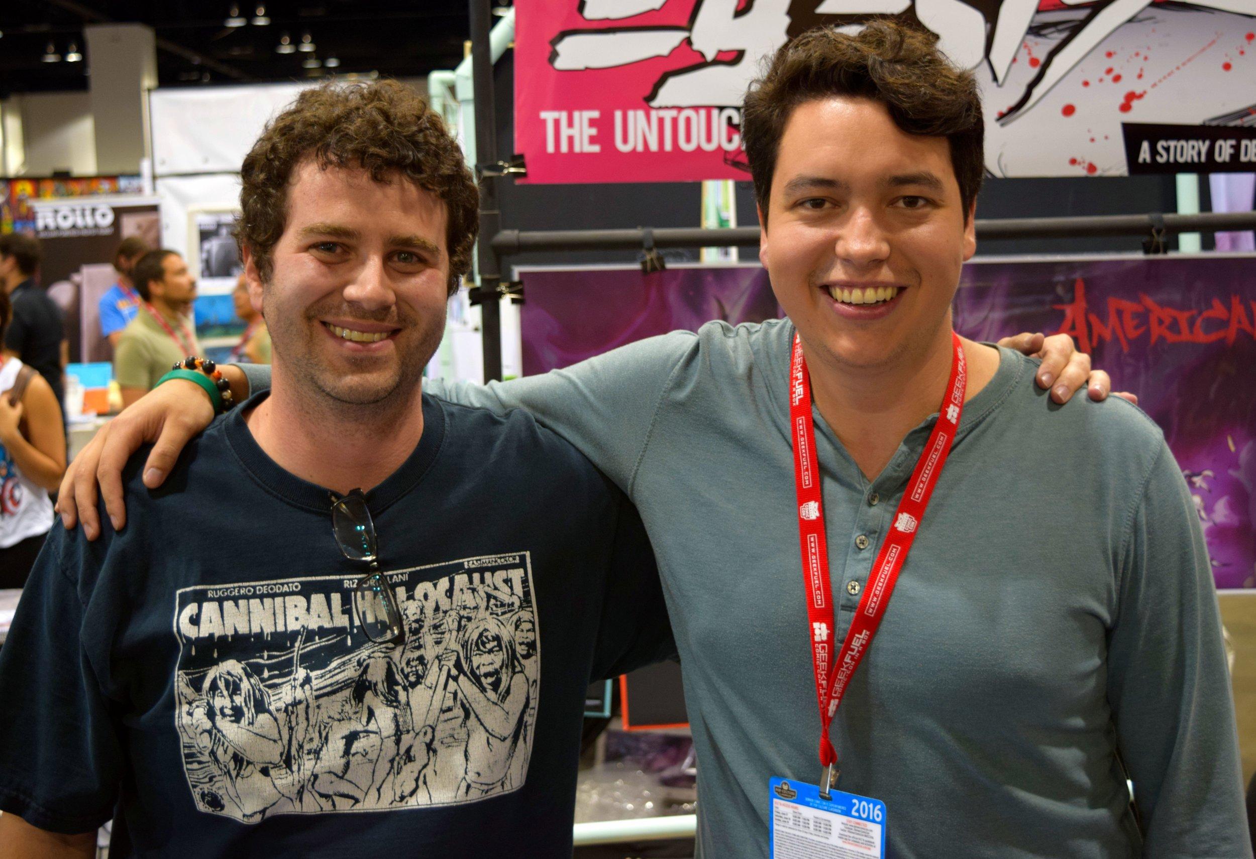 Alex Delia & David Espy at Denver Comic Con 2016. (3)
