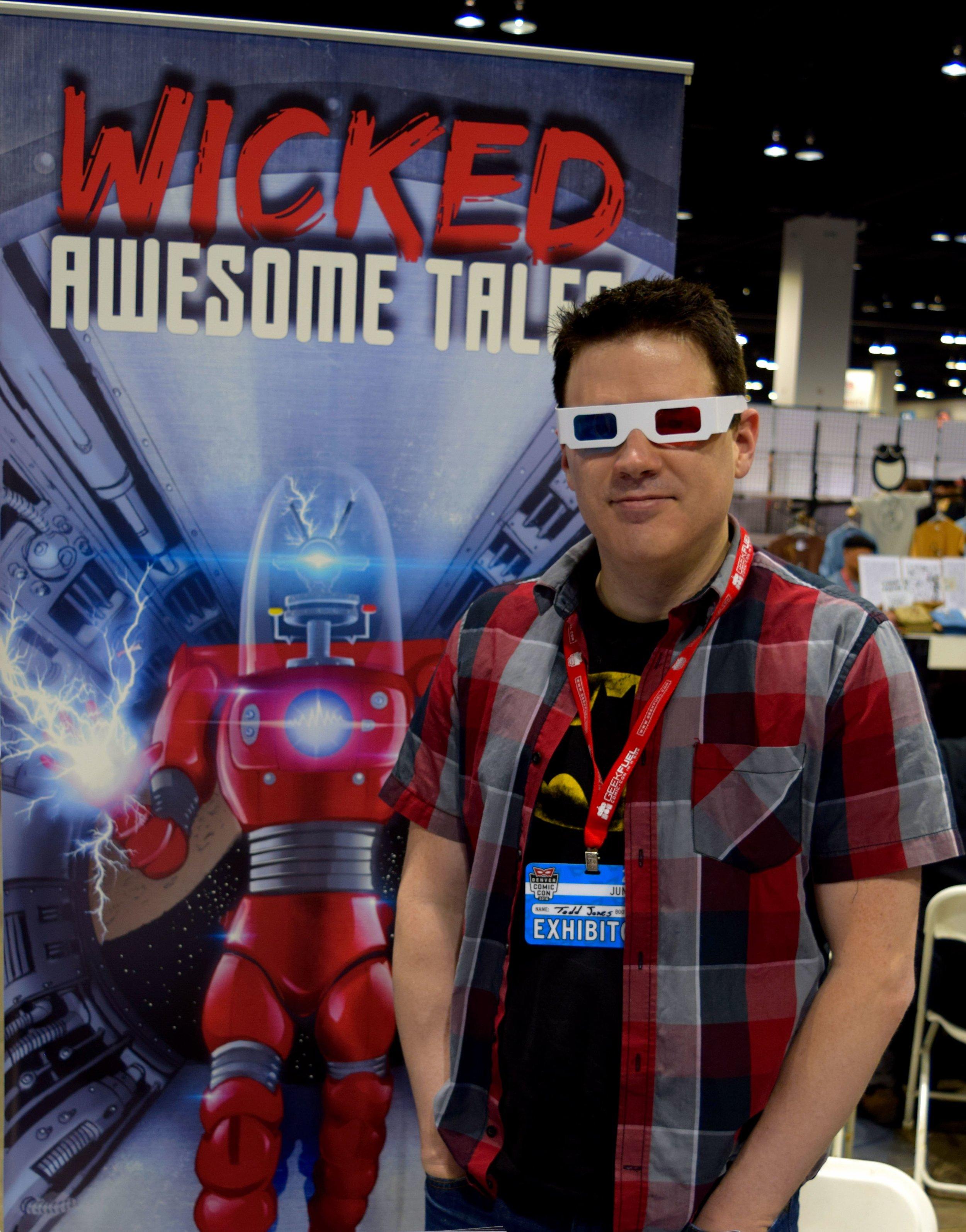 Todd Jones at Denver Comic Con 2016.