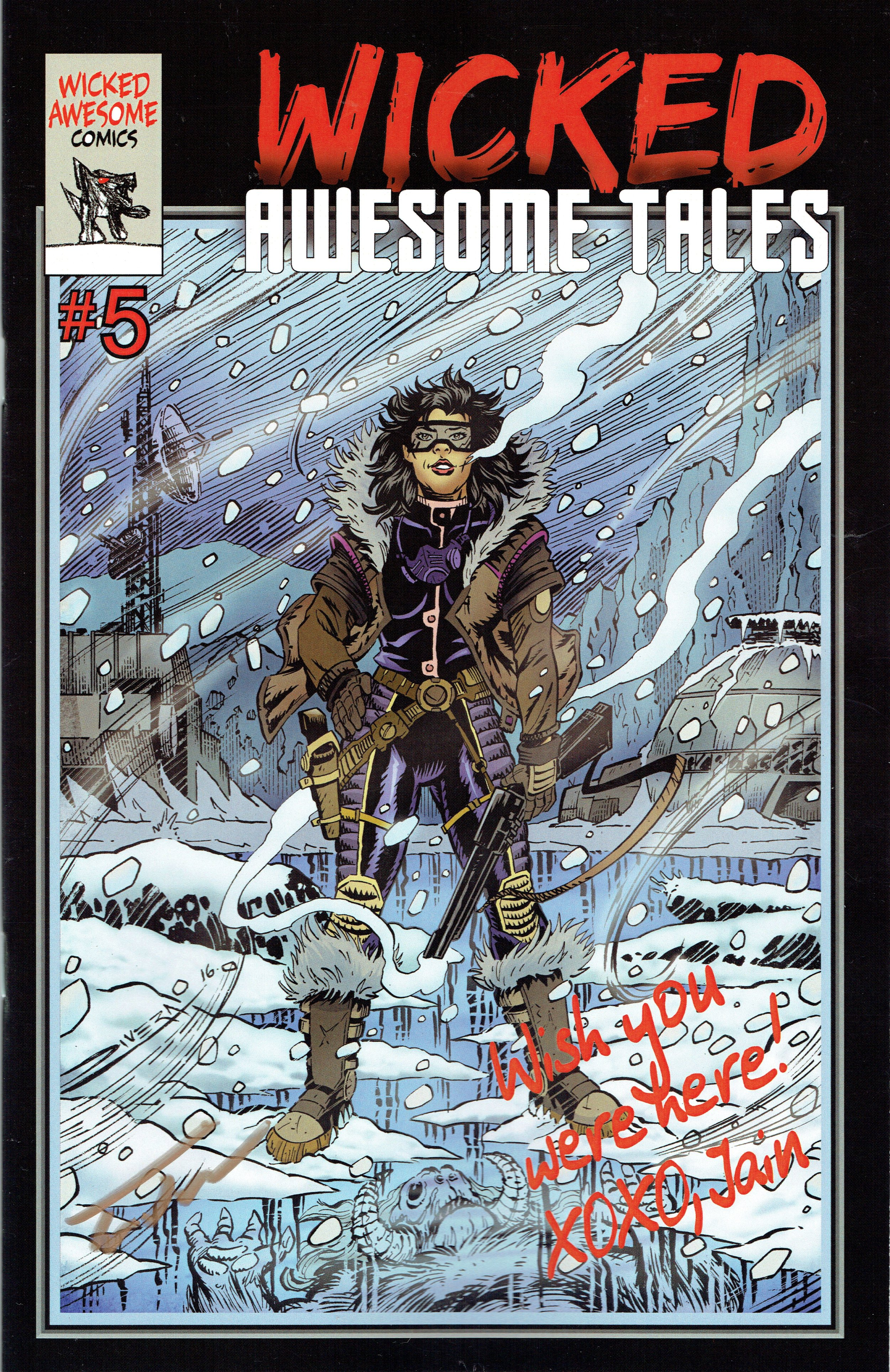 Wicked Awesome Tales #5 from Wicked Awesome Comics.