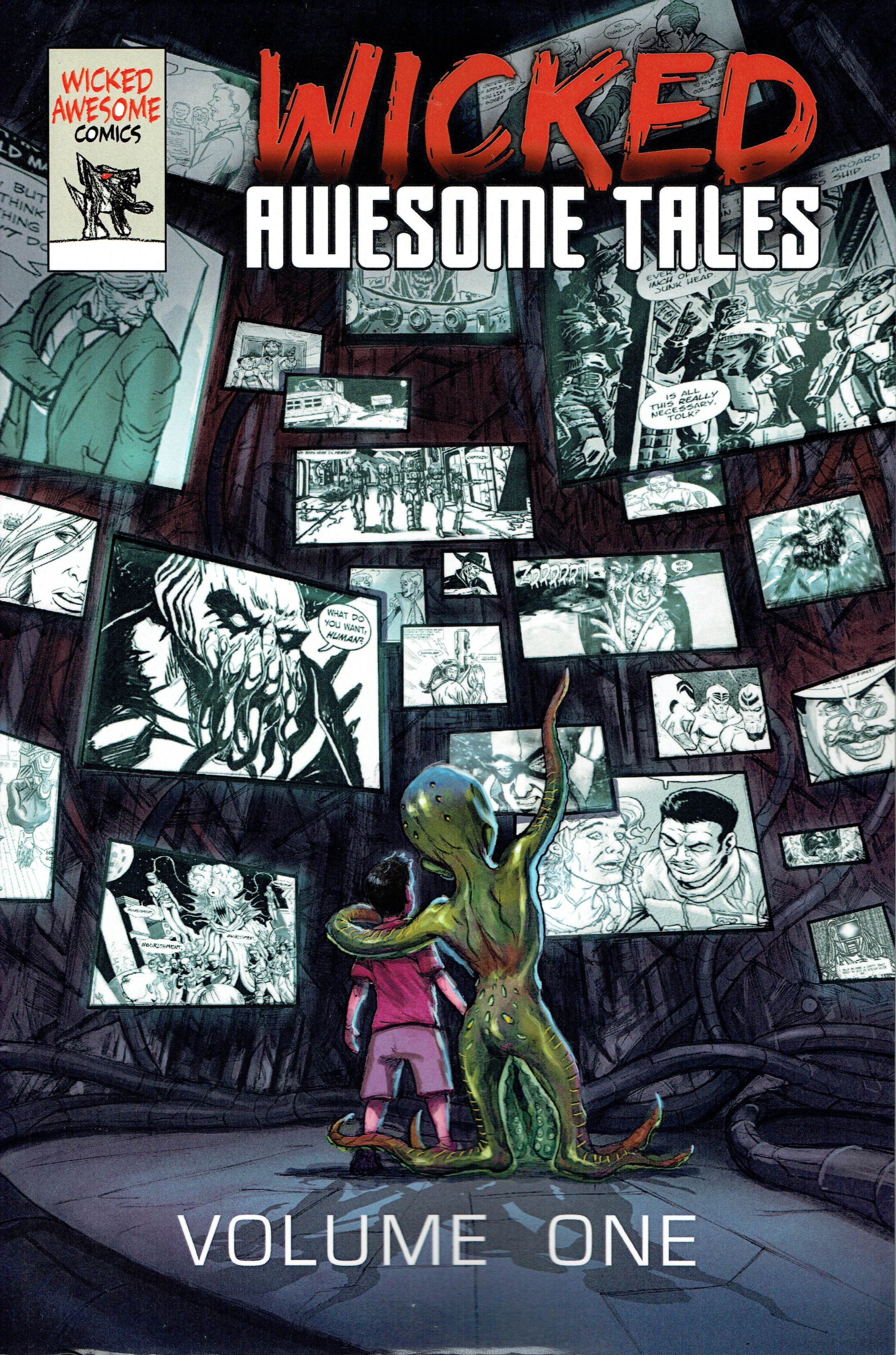 The Wicked Awesome Tales TPB from Wicked Awesome Comics.