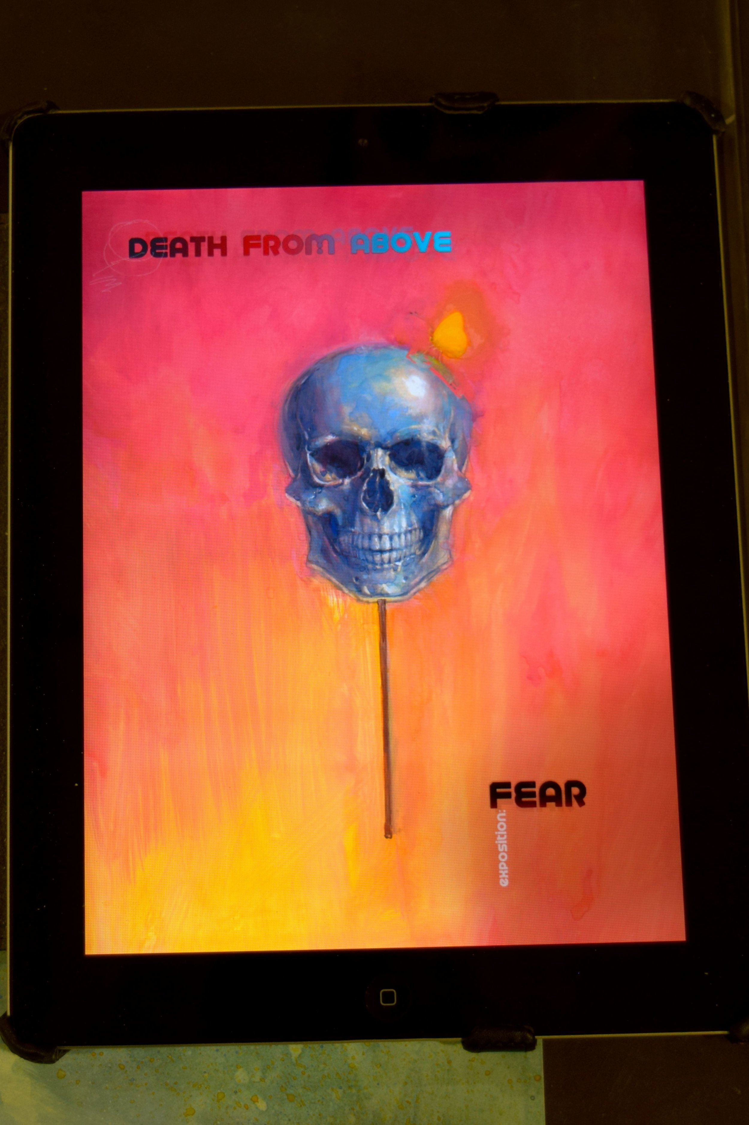Death From Above cover image from Felipe Echevarria.