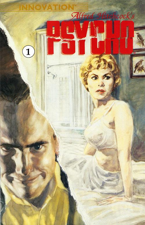 Psycho #1 from Innovation featuring art by Felipe Echevarria.