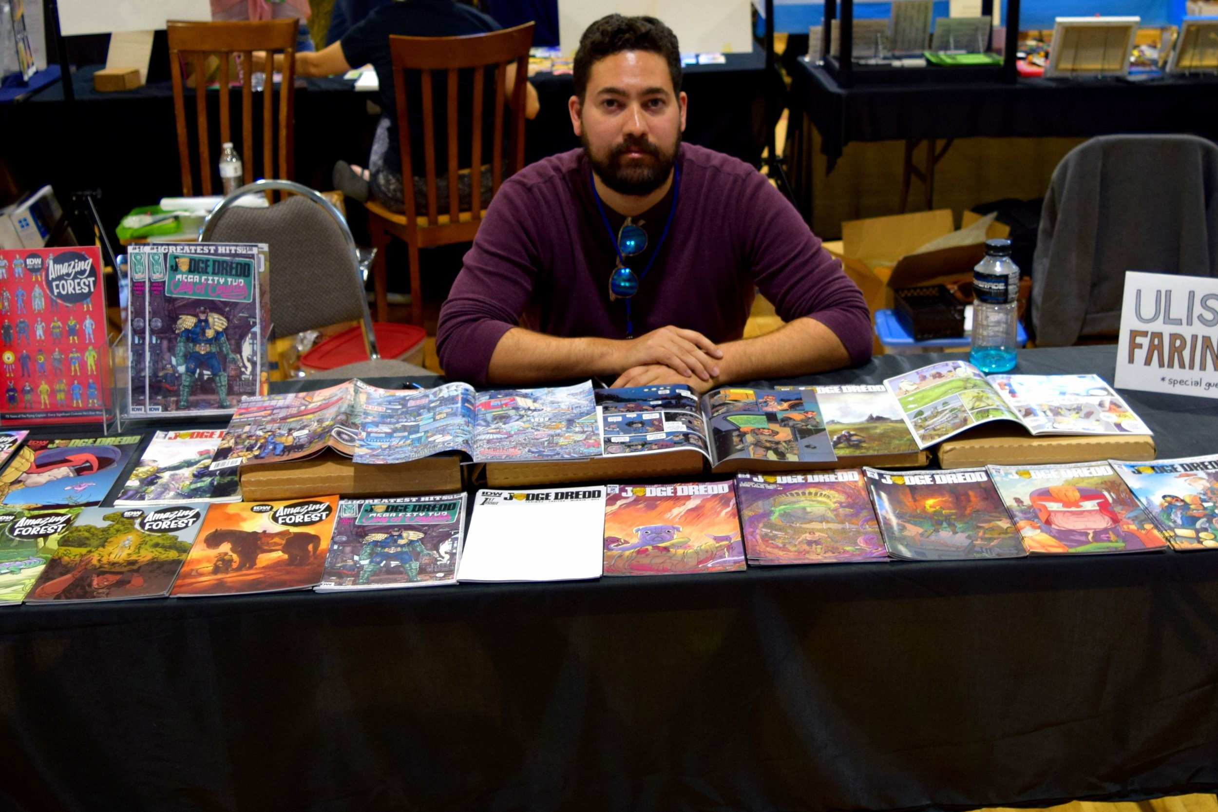 Ulises Farinas at Fort Collins Comic Con 2016 (1).