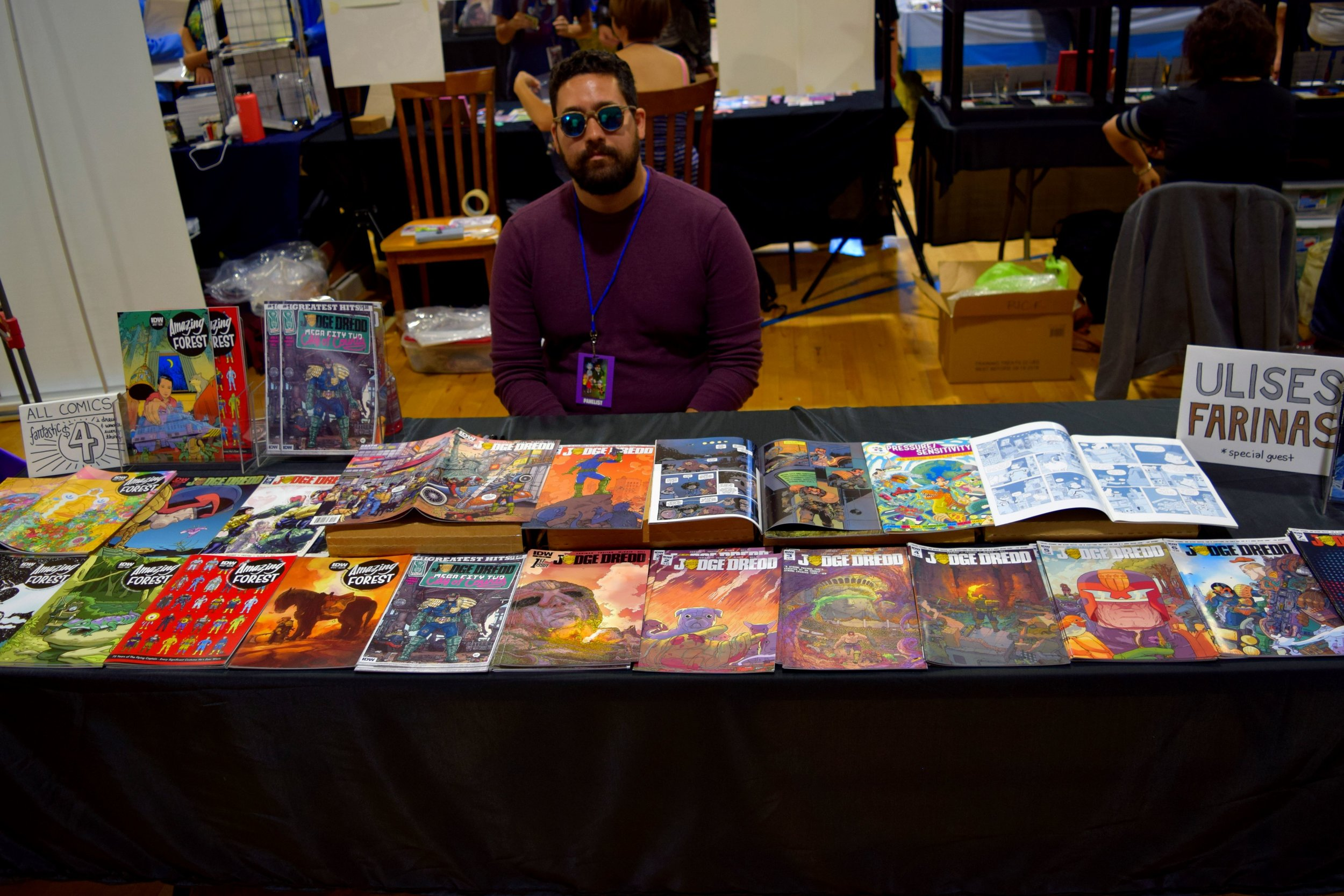 Ulises Farinas at Fort Collins Comic Con 2016 (2).