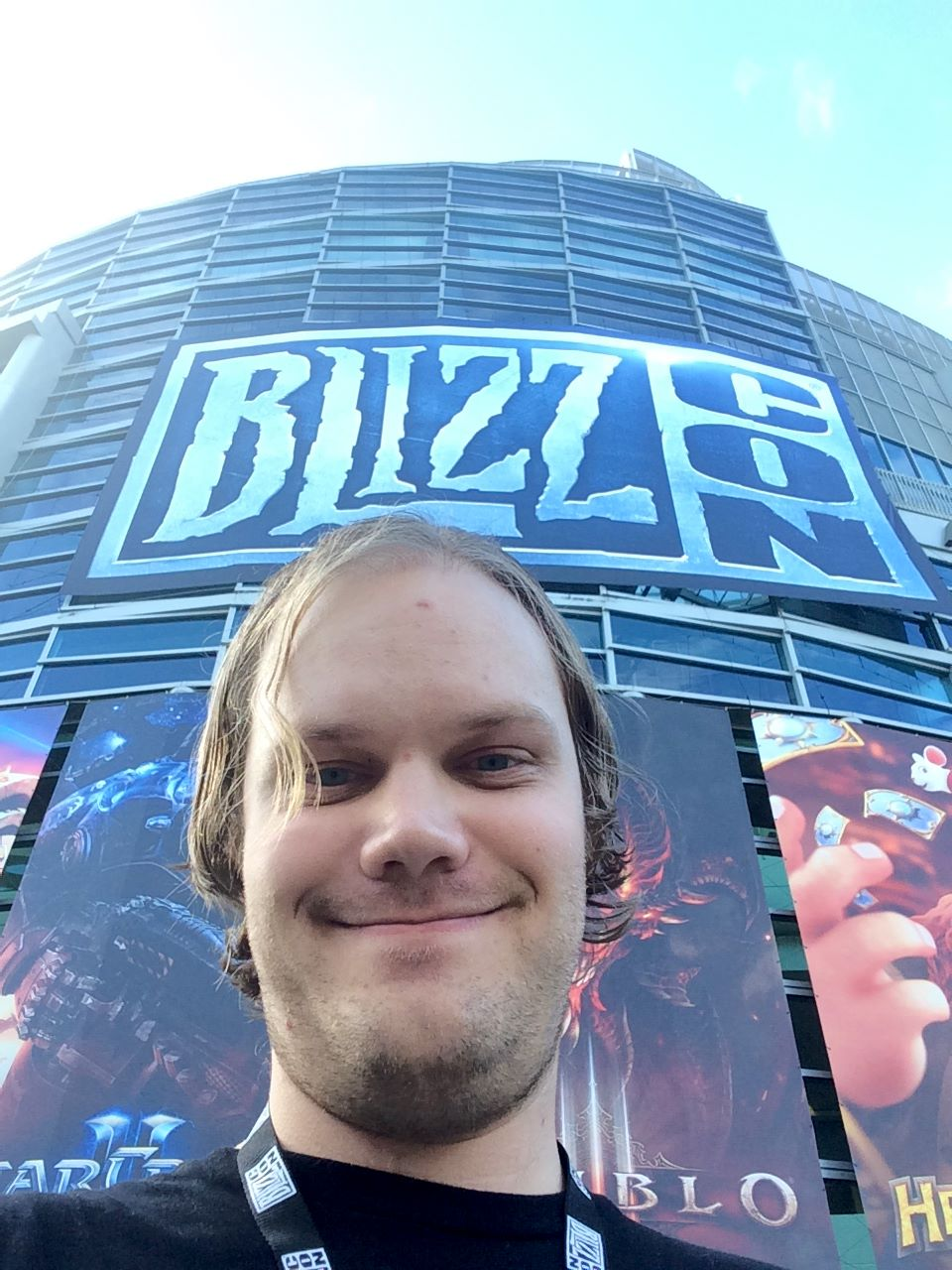 Shawn Hall at BlizzCon 2017.