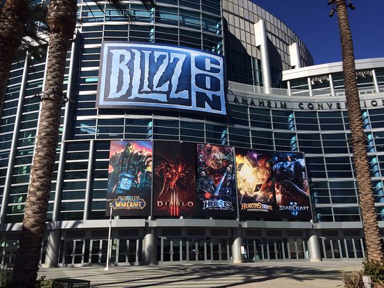 BlizzCon 2017 at the Anaheim Convention Center.