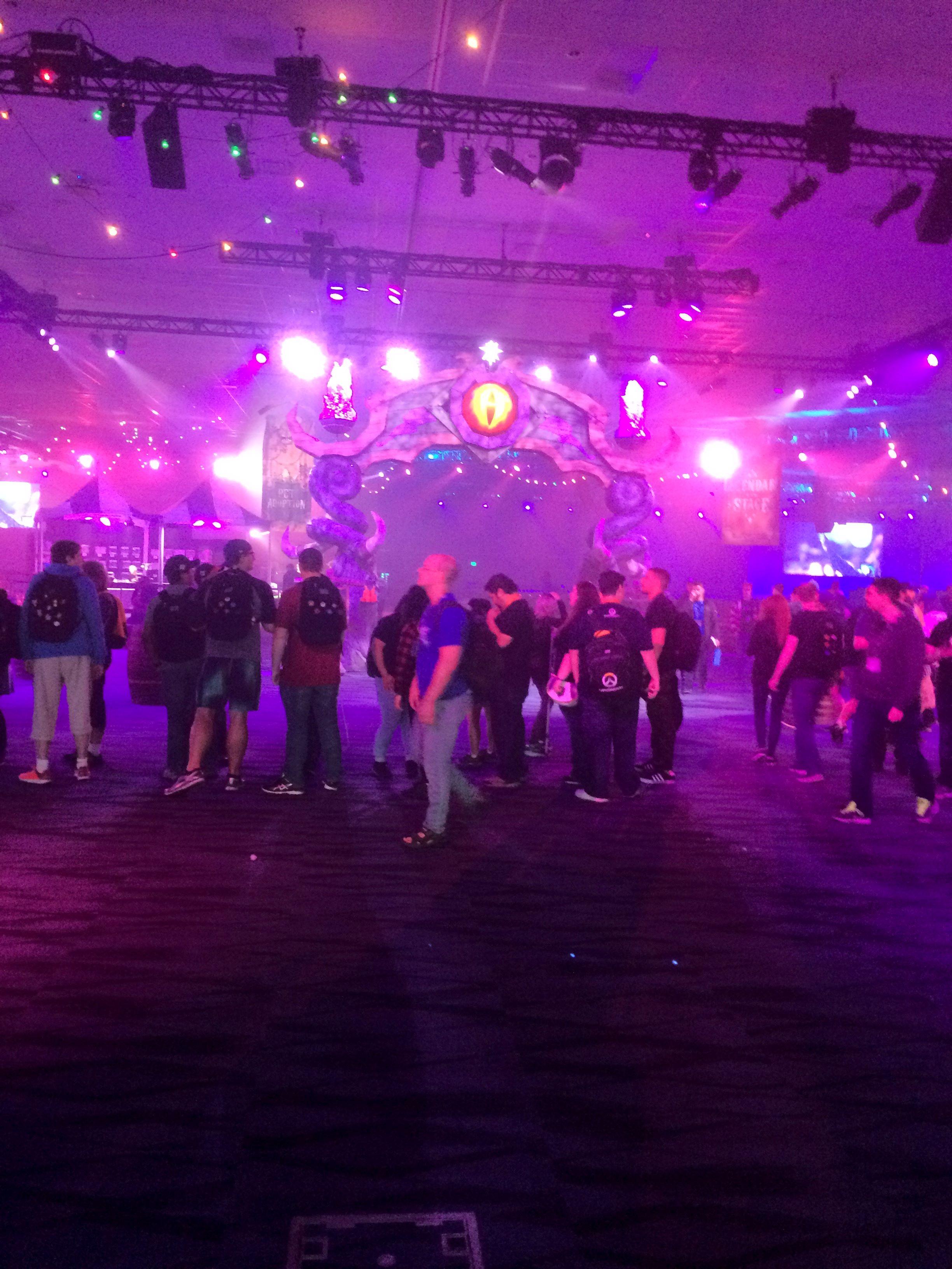 Darkmoon Faire at BlizzCon 2017.