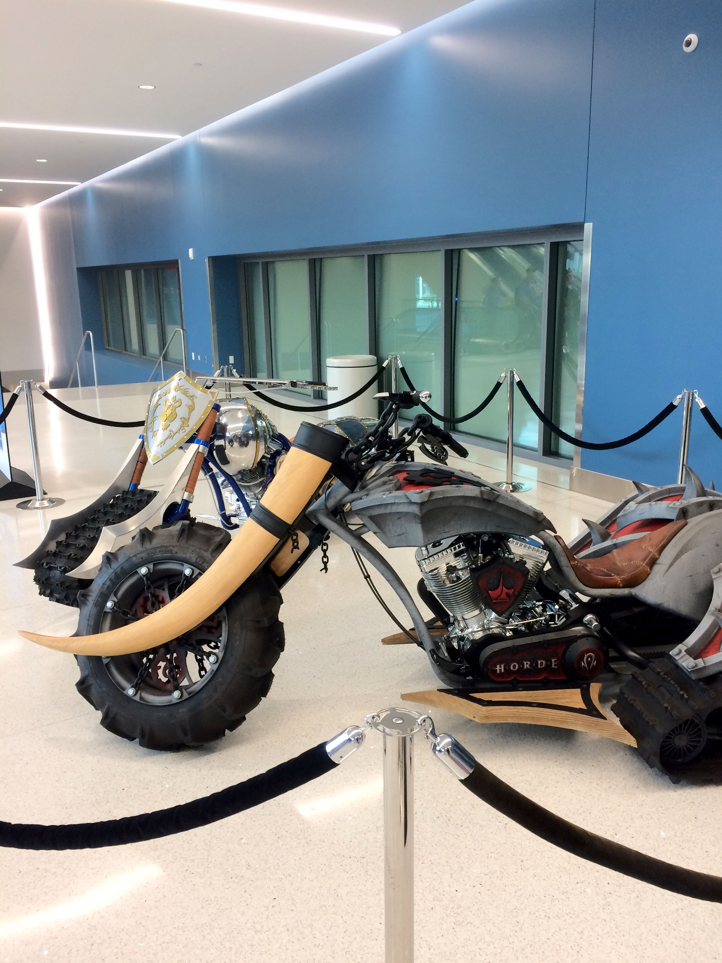 Azeroth Choppers at BlizzCon 2017.