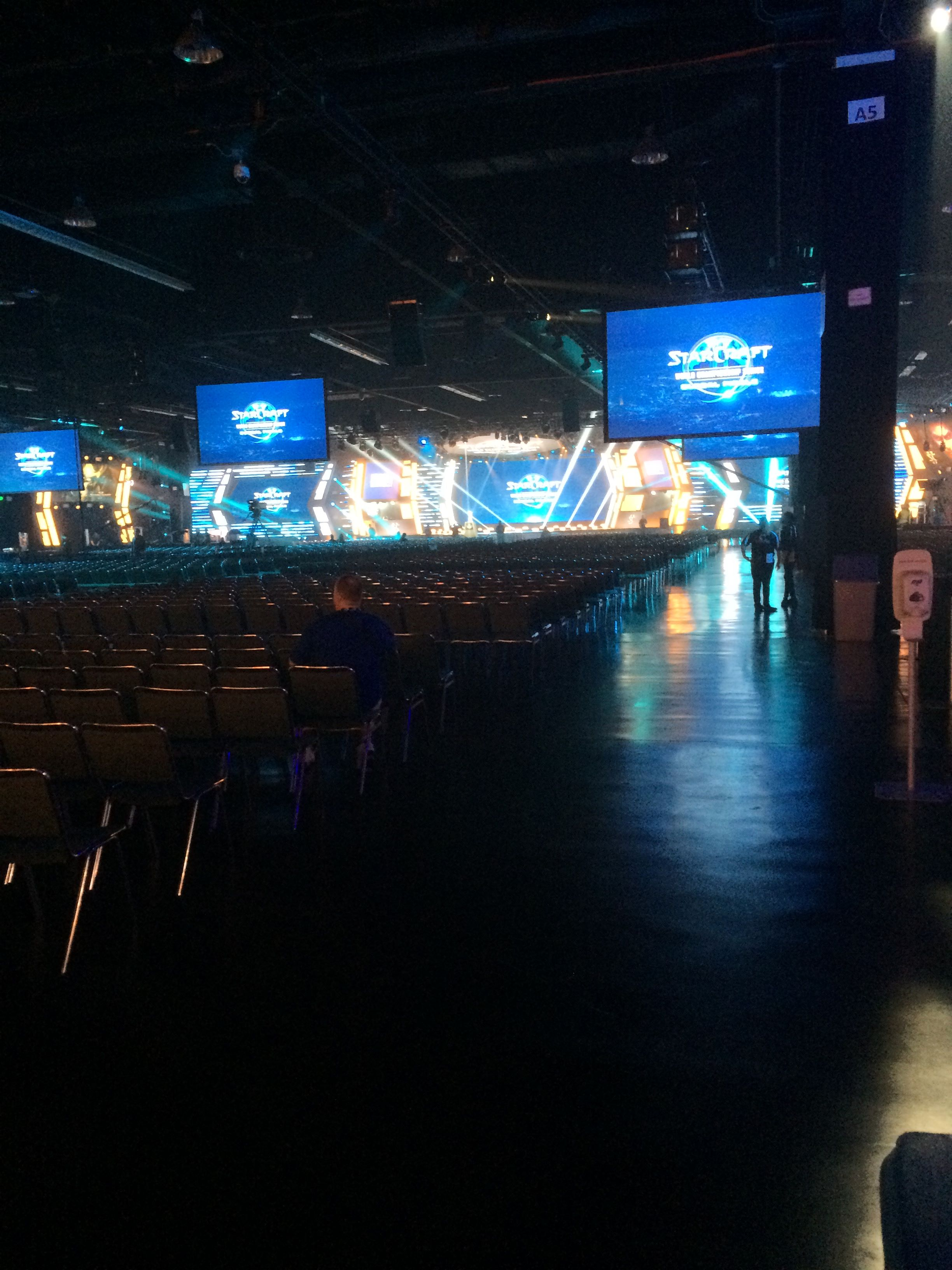 The StarCraft stage at BlizzCon 2017.
