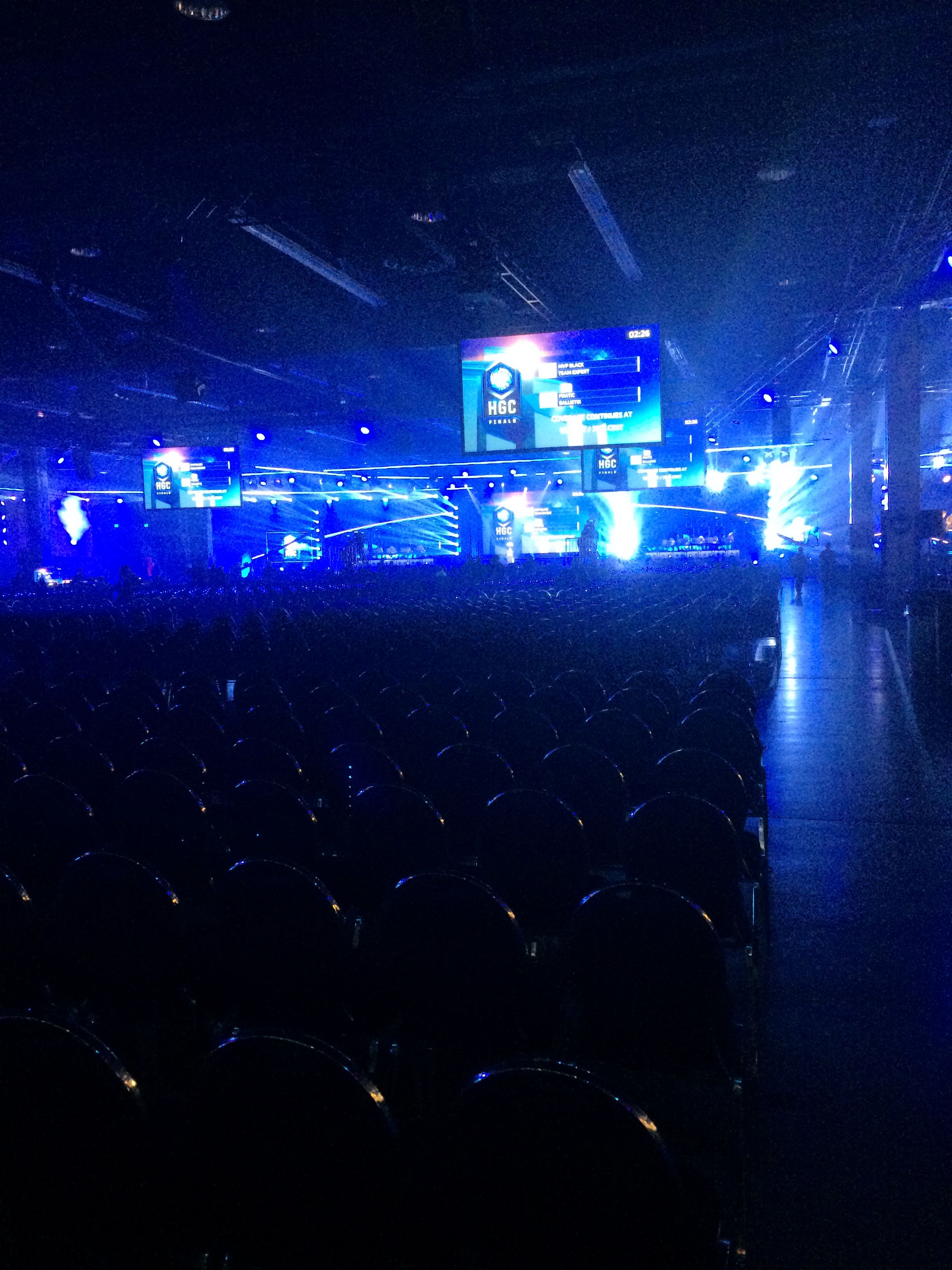 HGC Finals at BlizzCon 2017.