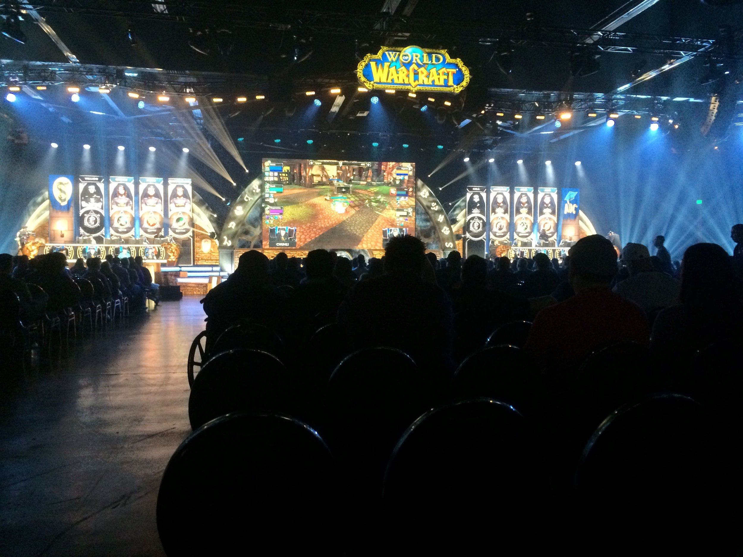 World of Warcraft Finals at BlizzCon 2017.