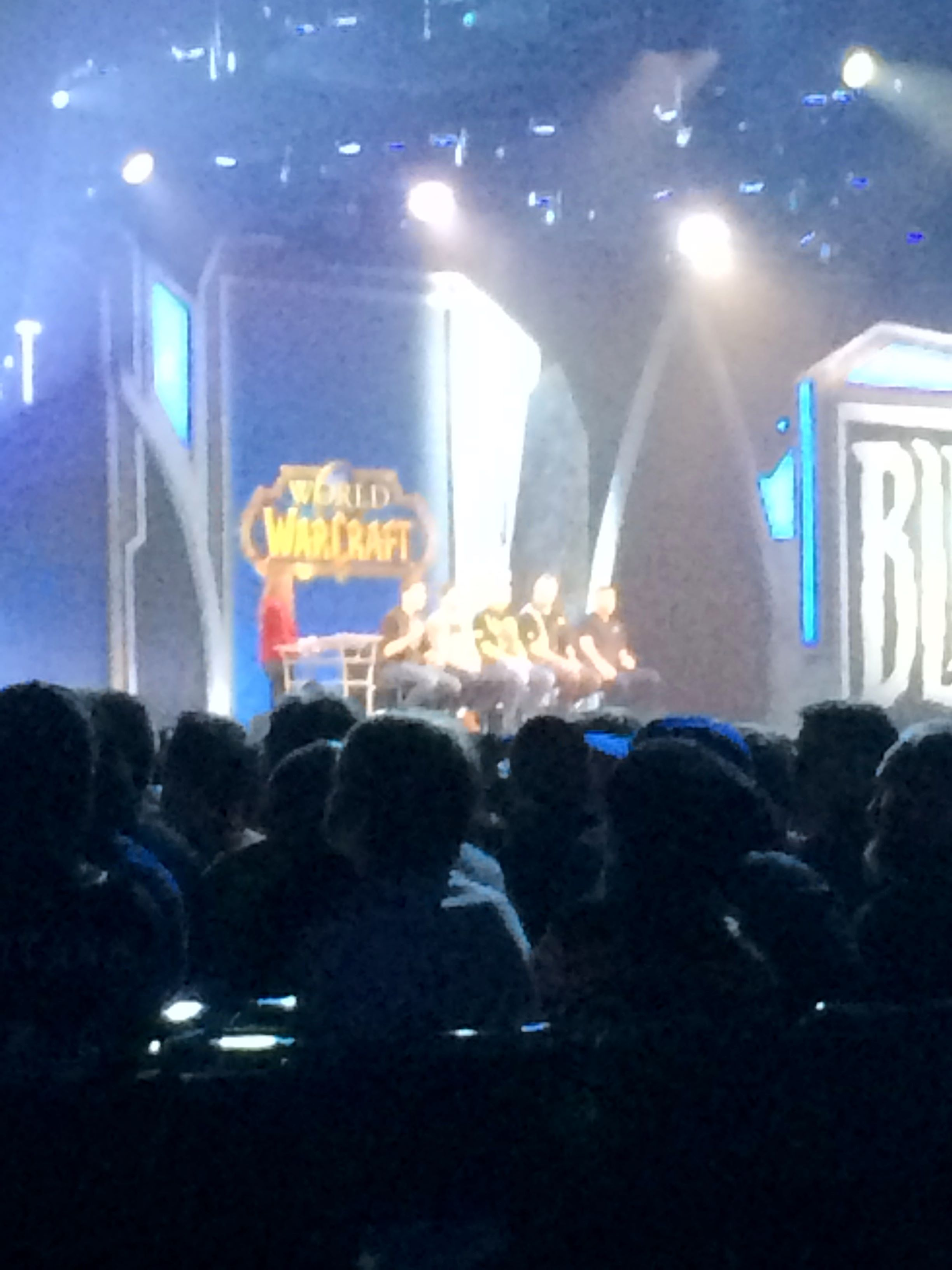 Closing Ceremonies at BlizzCon 2017. ()