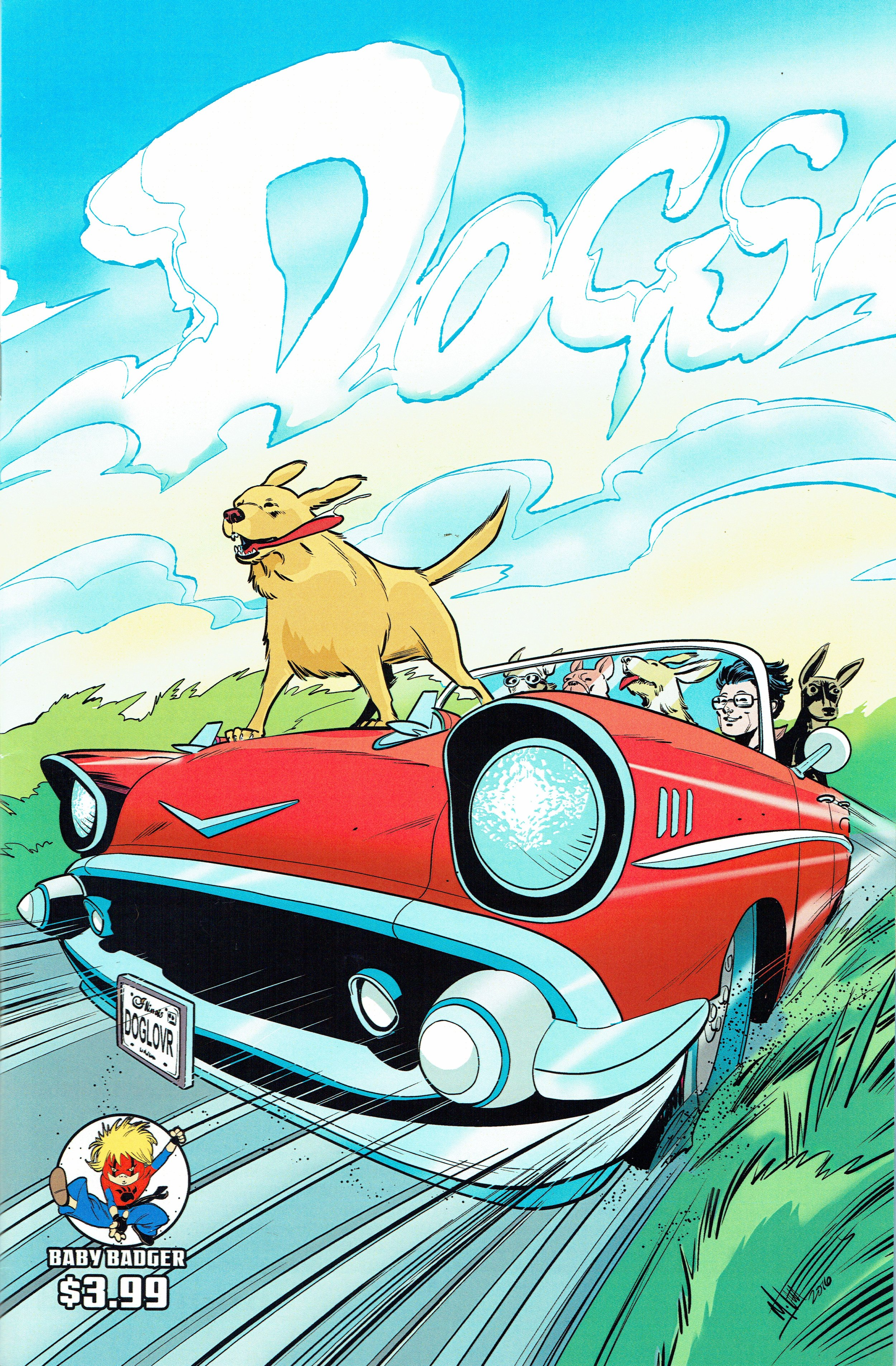 Dogs #1 from Baby Badger Comics.