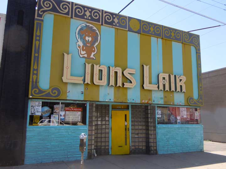 The Lion's Lair at 2022 E Colfax Ave, Denver, CO 80206.