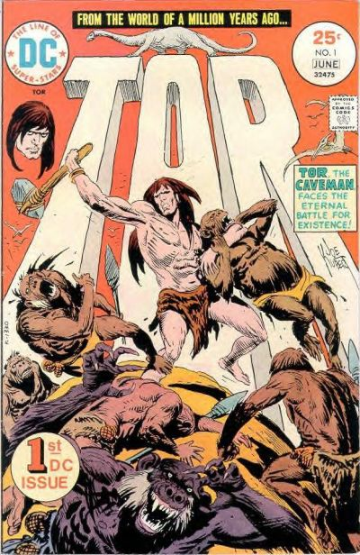 Tor (1975) #1 by Joe Kubert from DC comics.