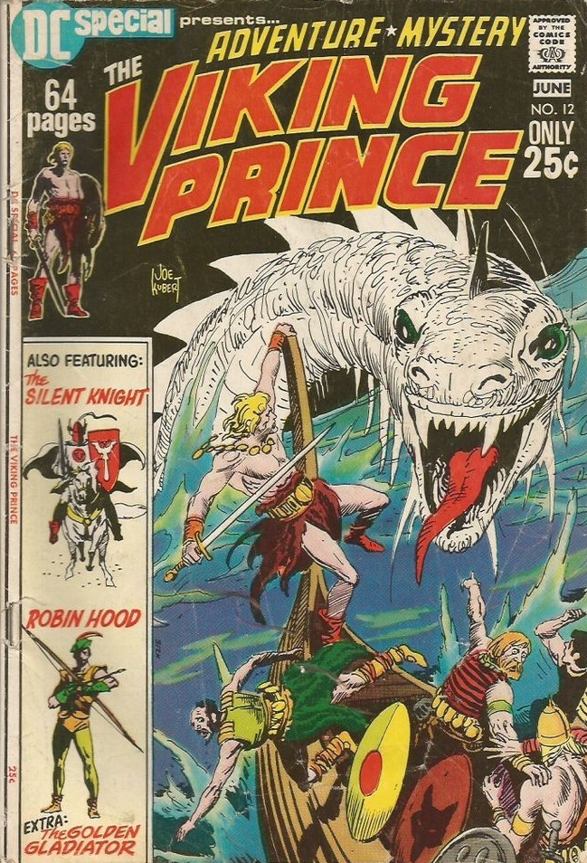 DC Special (1968) #12 featuring Viking Prince by Joe Kubert.