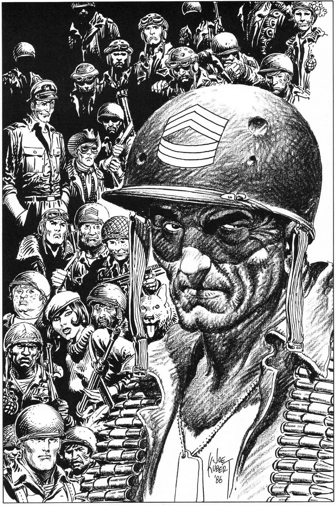 Sgt. Rock & Company by Joe Kubert.