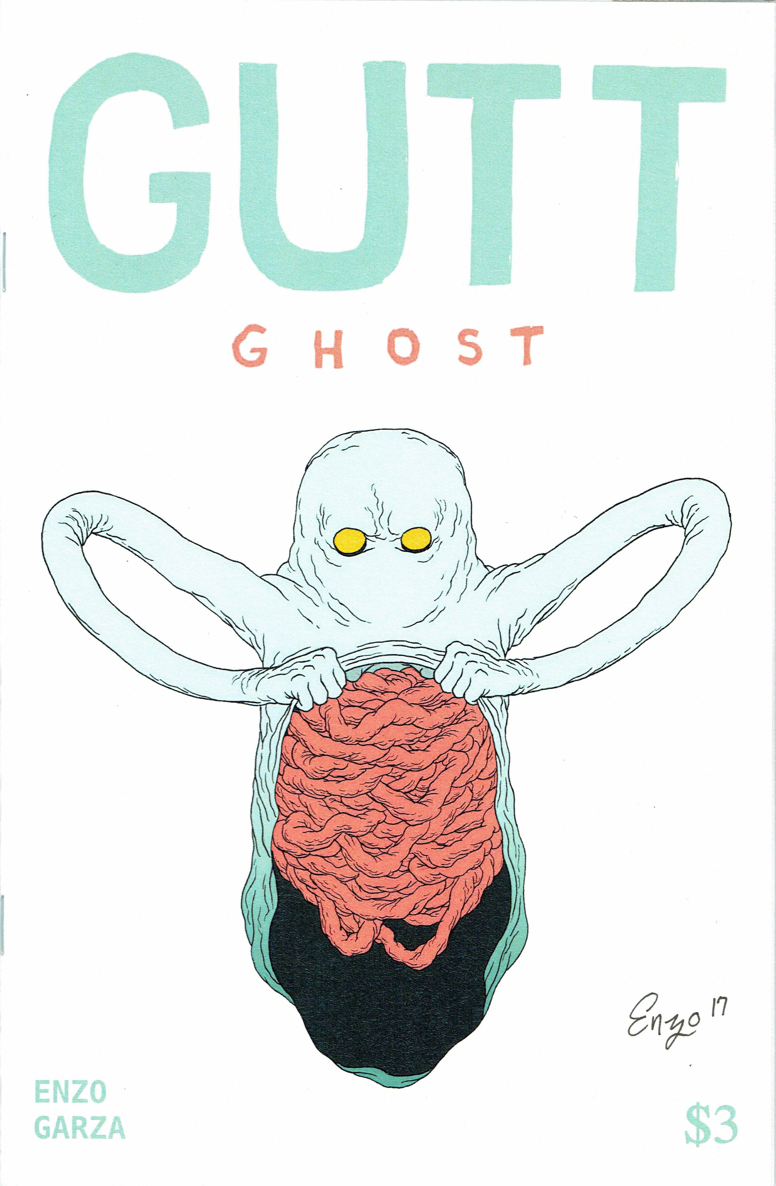 Gutt Ghost #1 from Enzo Garza.