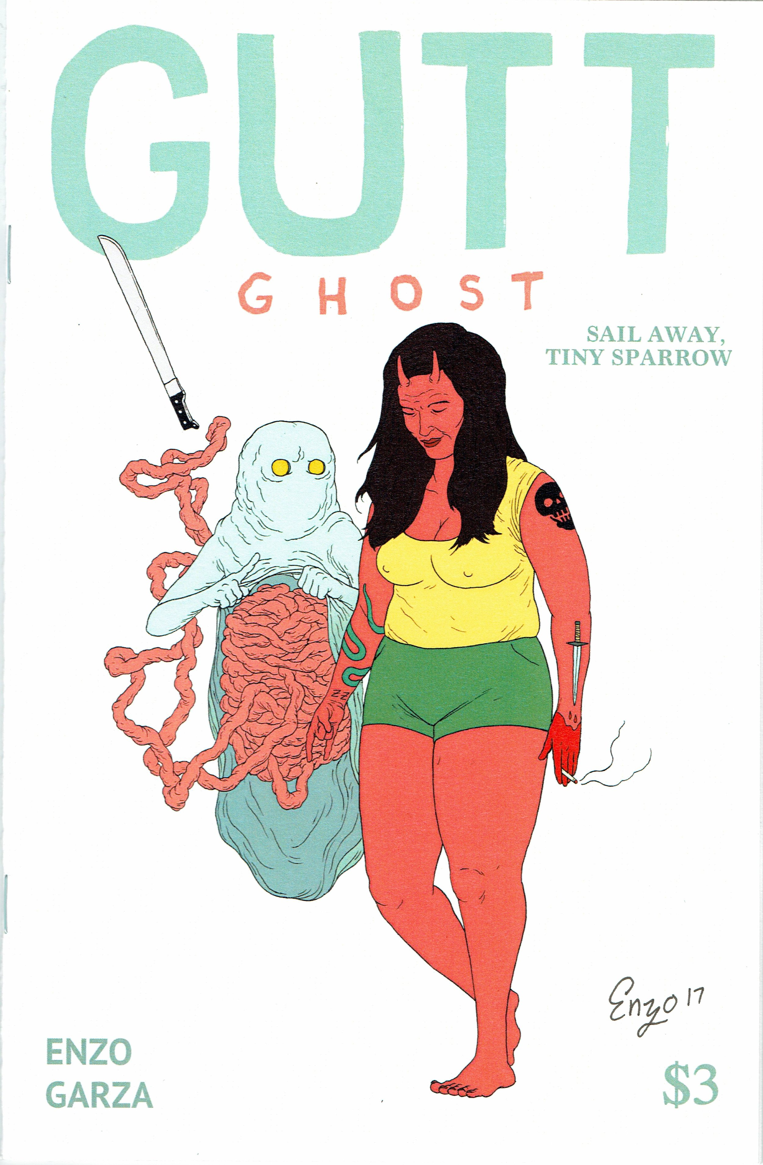 Gutt Ghost #2 from Enzo Garza.
