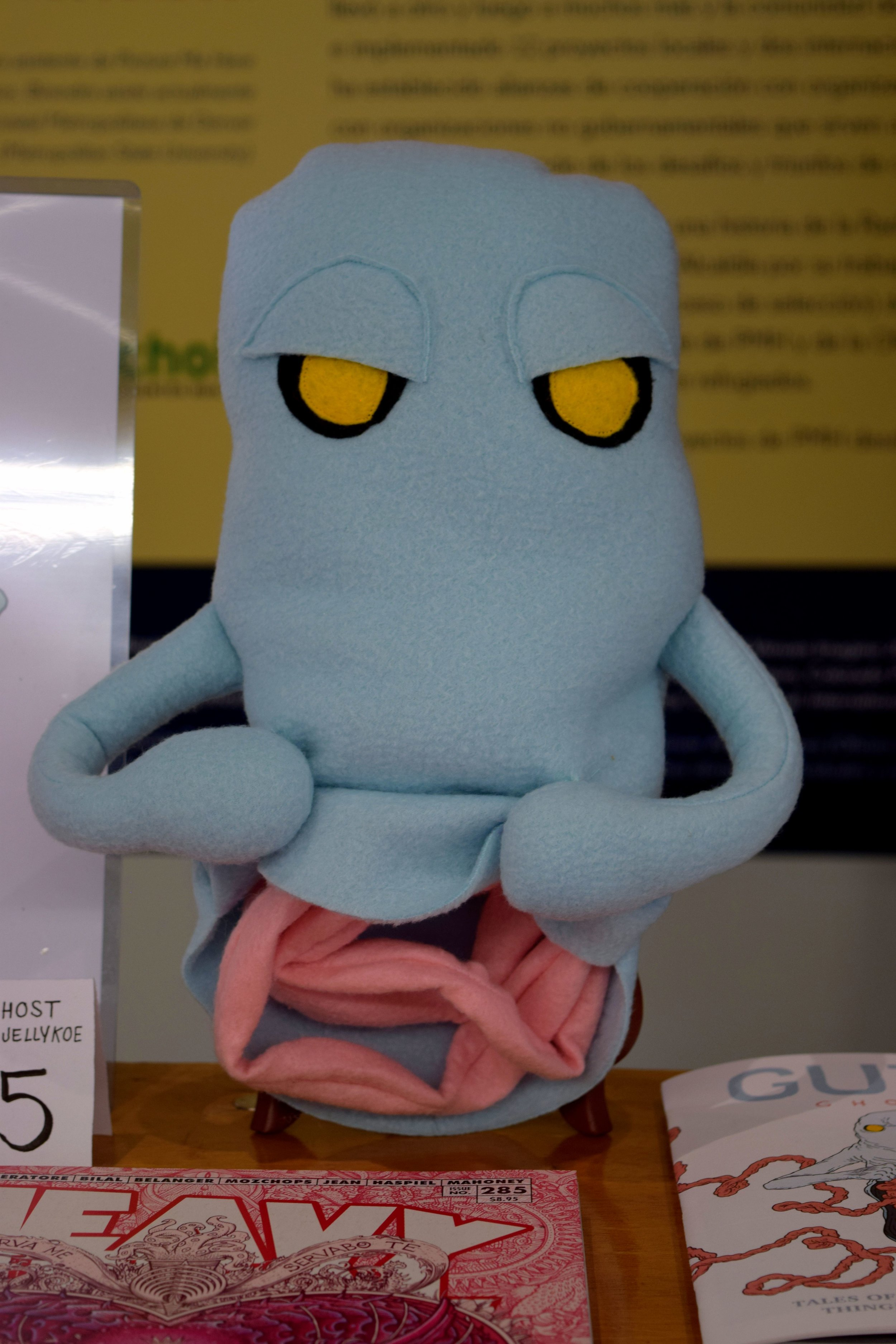 Gutt Ghost plush doll at DINK 207.