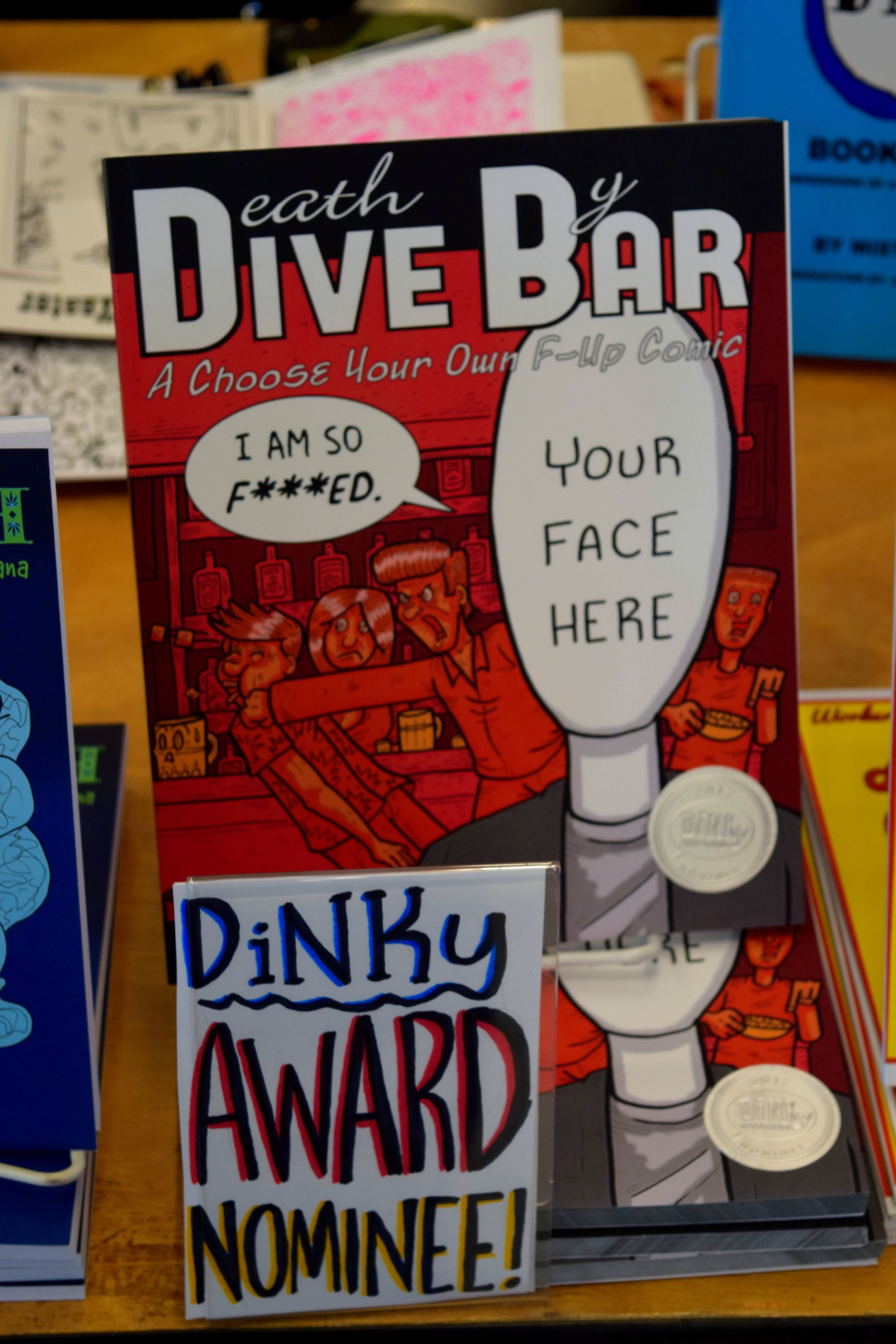 Death By Dive Bar at DINK 2017.