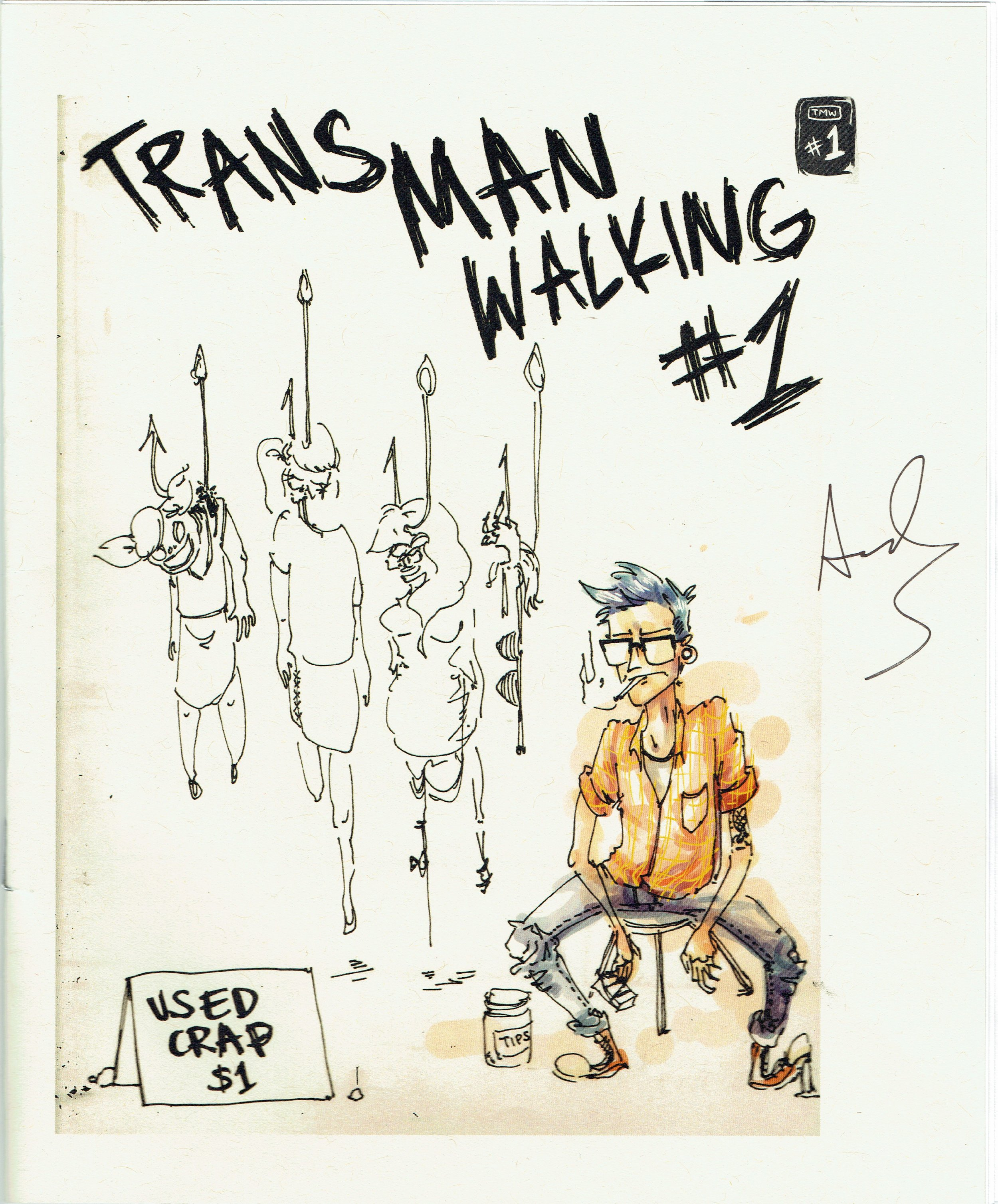 Trans Man Walking #1 from Andi Santagata at DINK 2017.