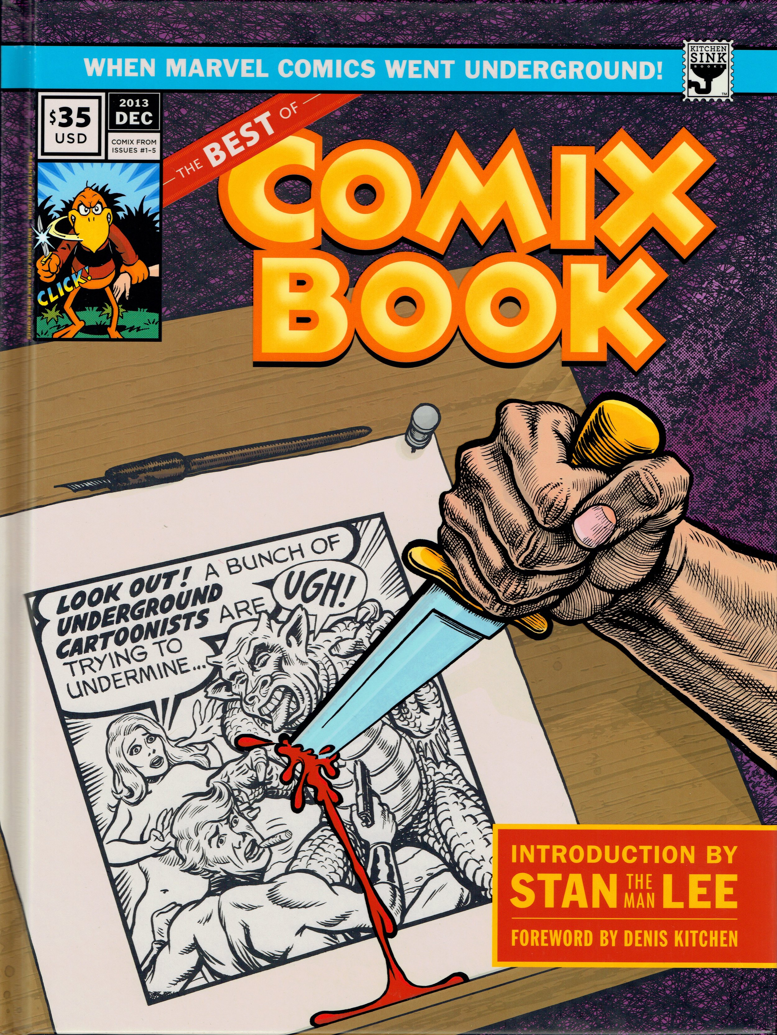 The Best of Comix Book from Kitchen Sink Press, at DINK 2017.