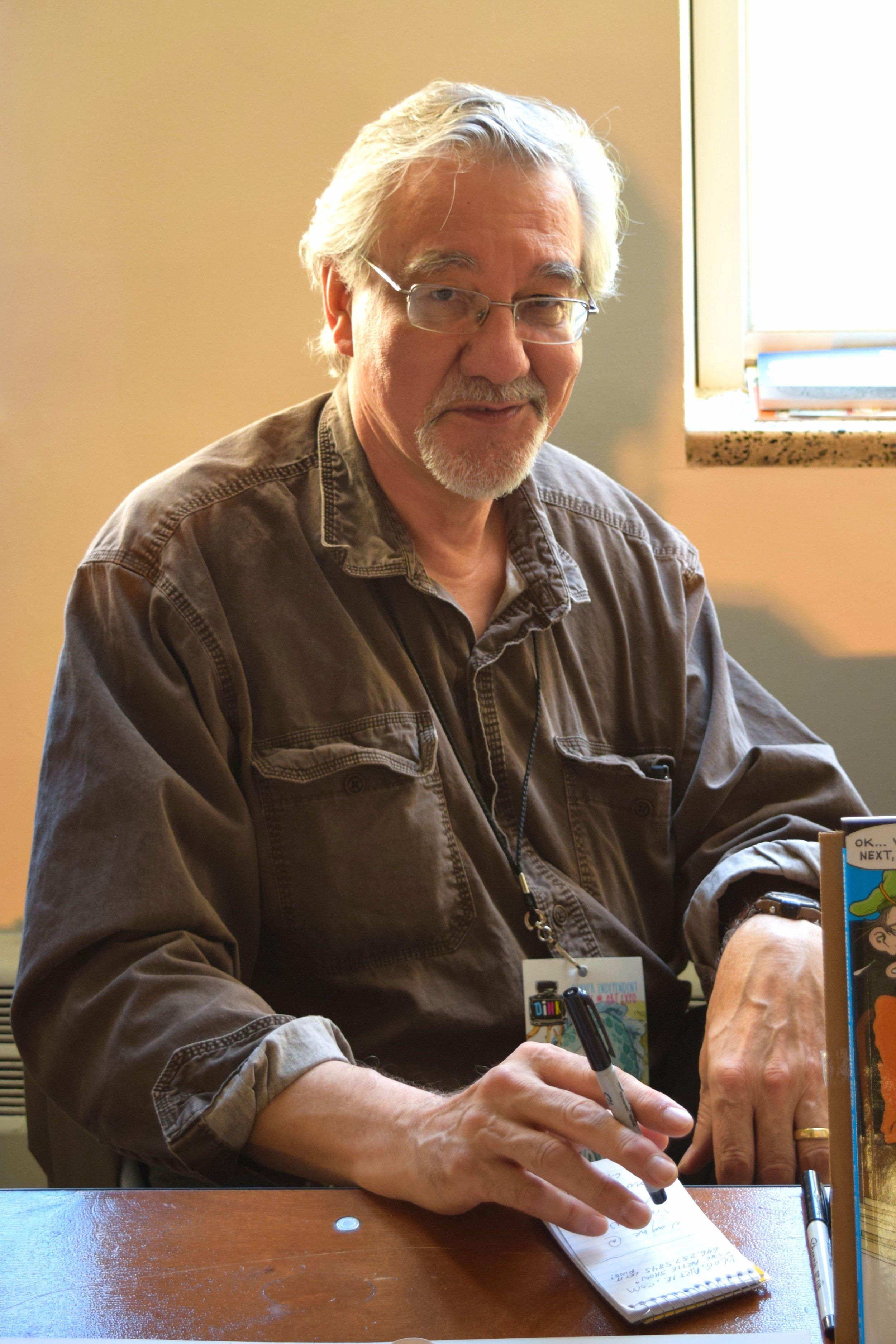 Denis Kitchen at DINK 2017. (2)