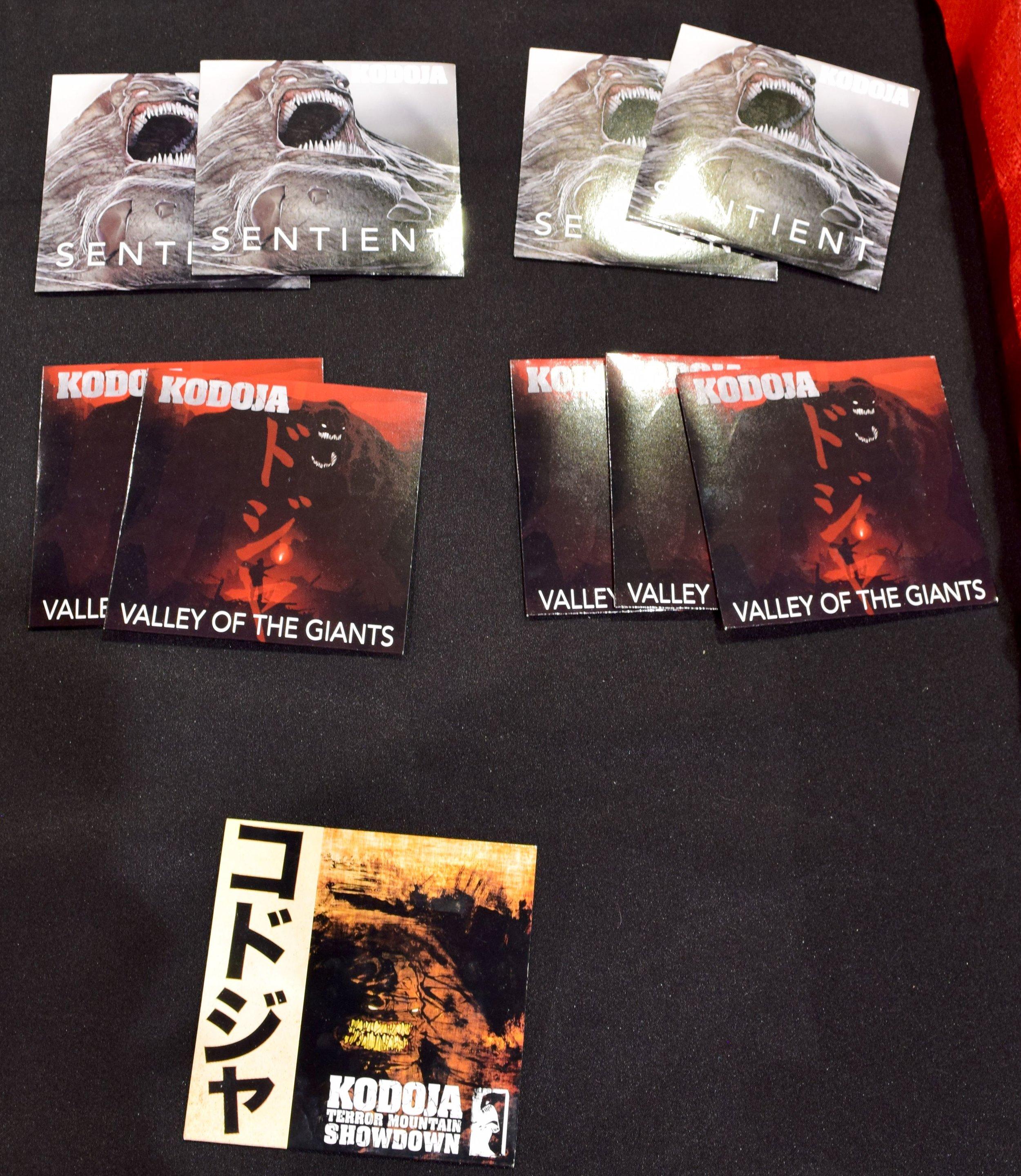 Kodoja CDs at Phoenix Comic Con 2017.