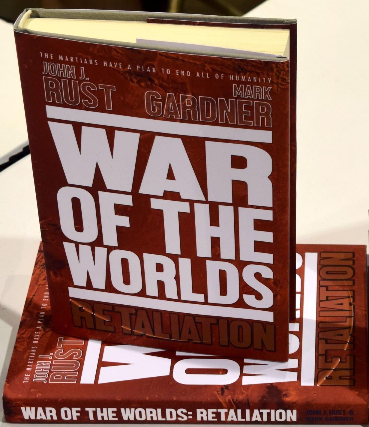 War of the Worlds: Retaliation by John J. Rust & Mark Gardner.