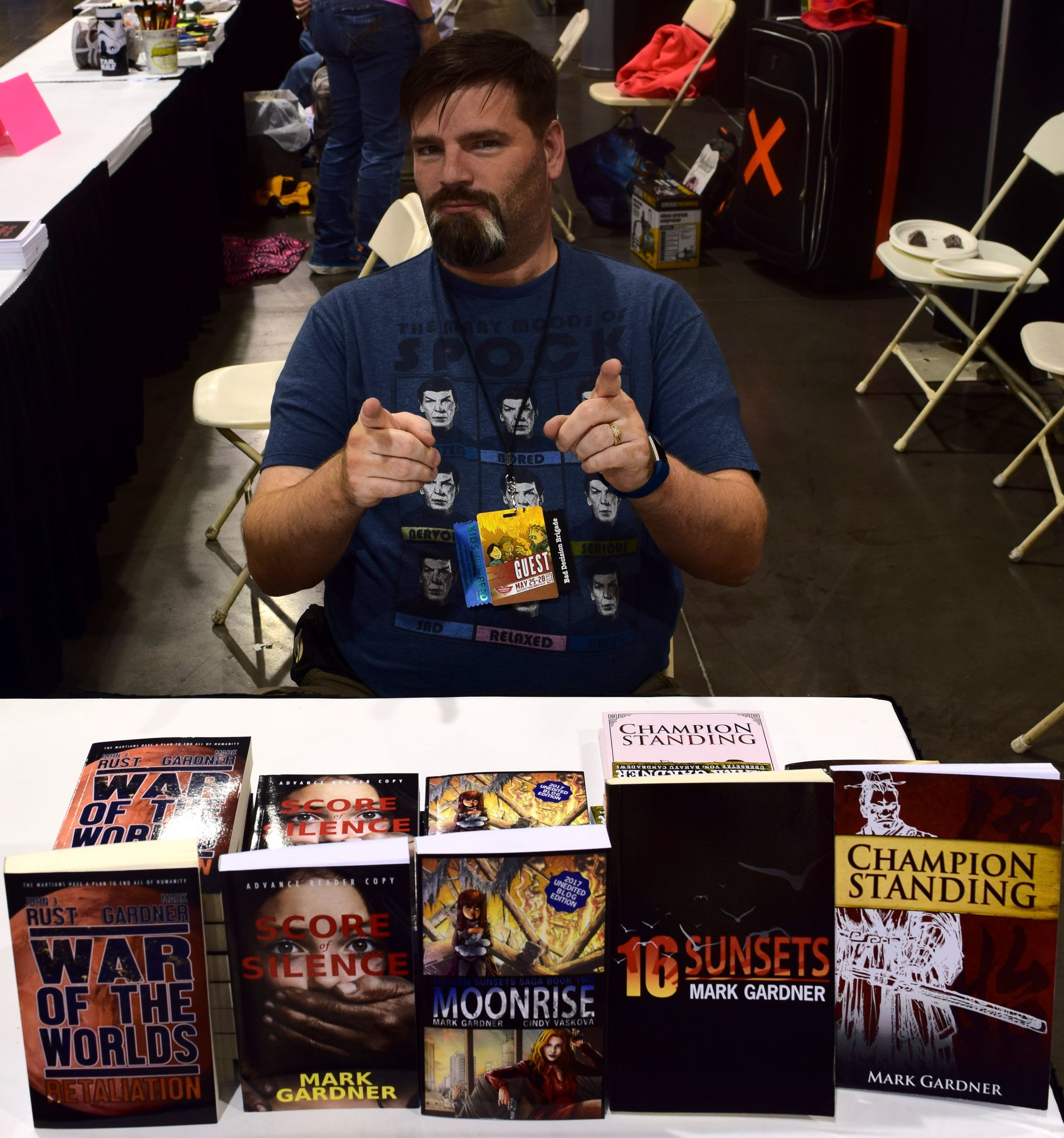 Mark Gardner at Phoenix Comic Con 2017. (1)