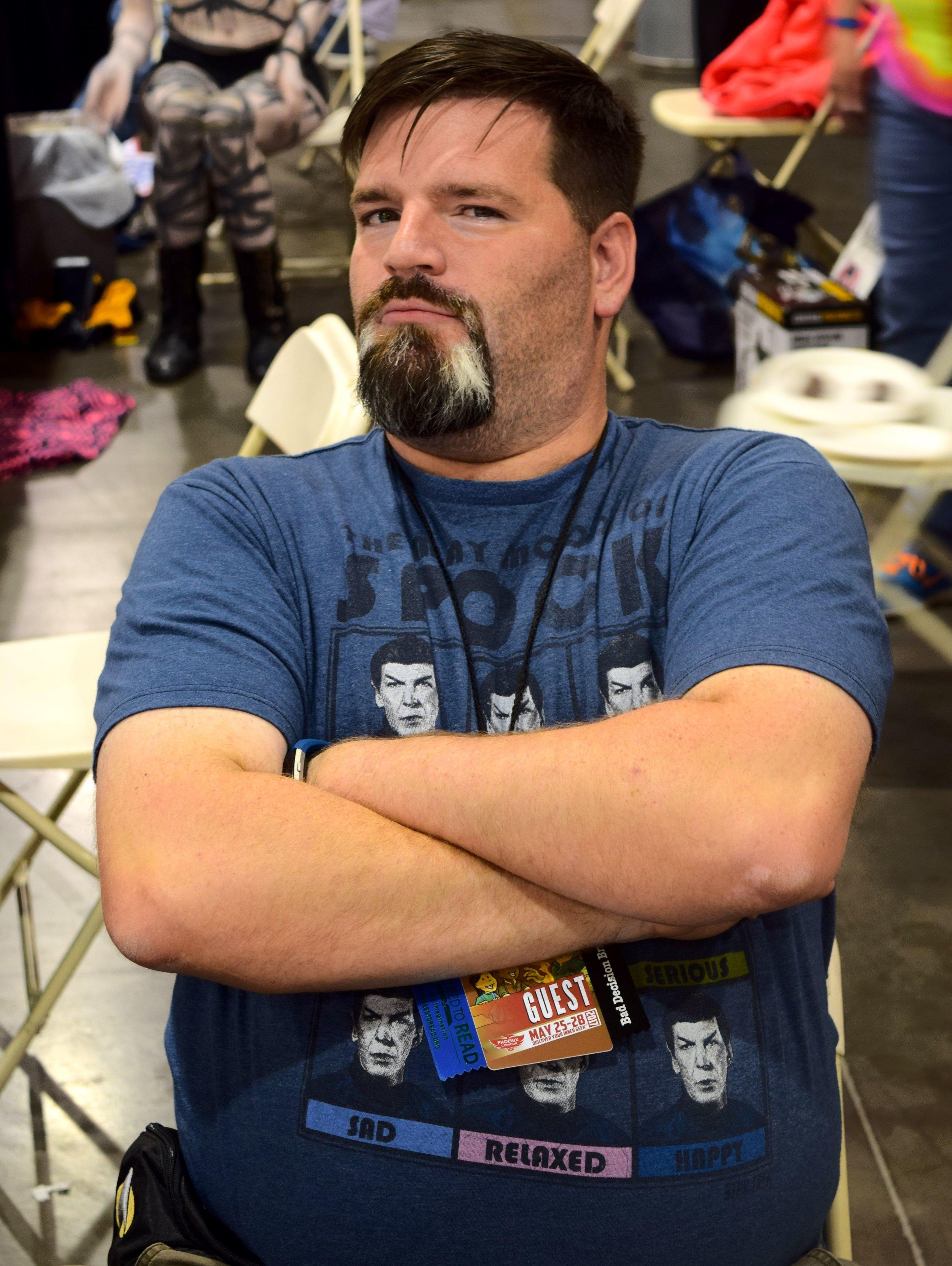 Mark Gardner at Phoenix Comic Con 2017. (2)